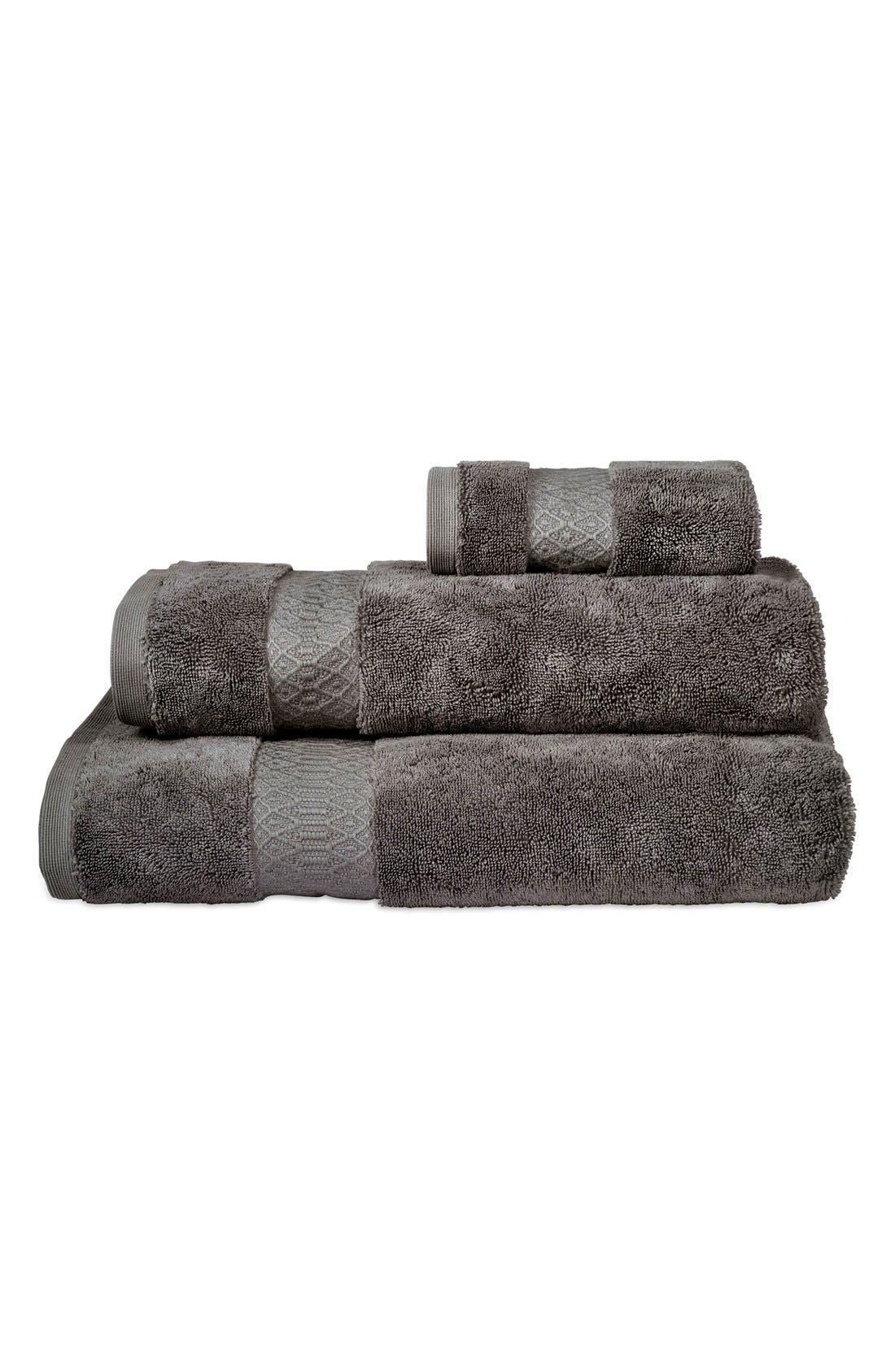 'Kalan' Supima<sup>®</sup> Cotton Bath Towel,                             Main thumbnail 1, color,                             020