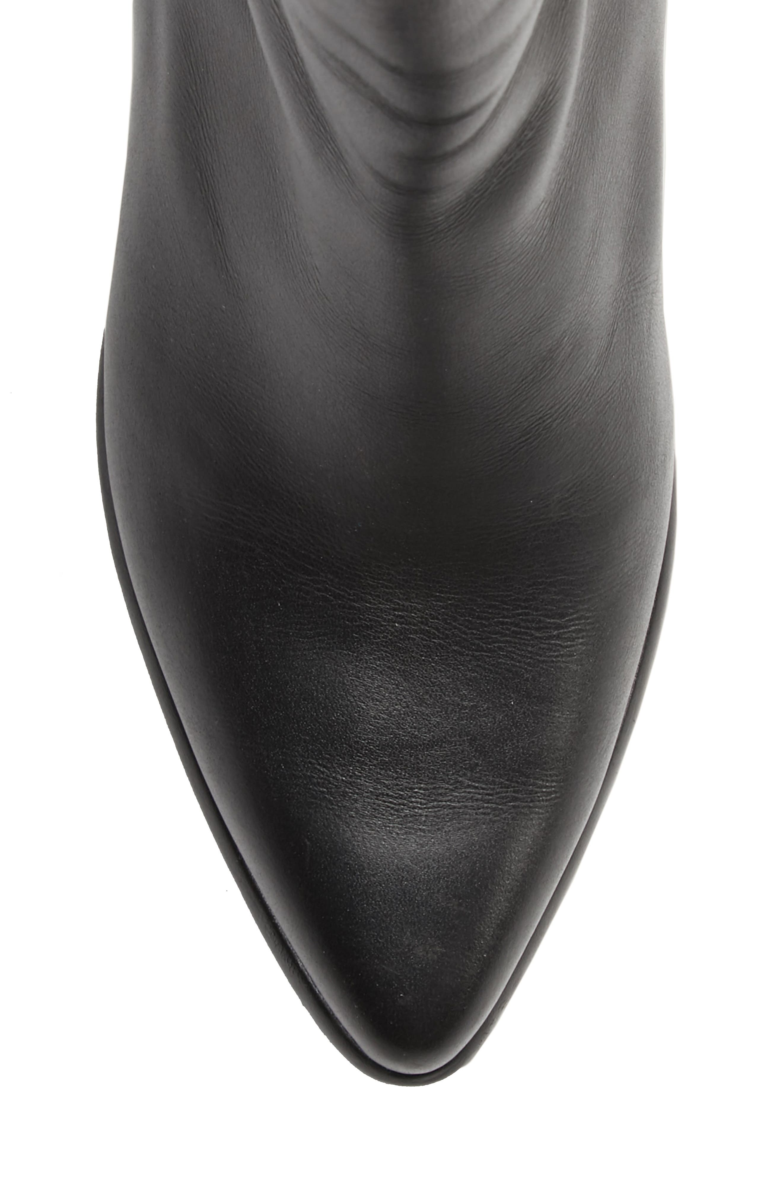 Ring Slim Boot,                             Alternate thumbnail 5, color,                             BLACK