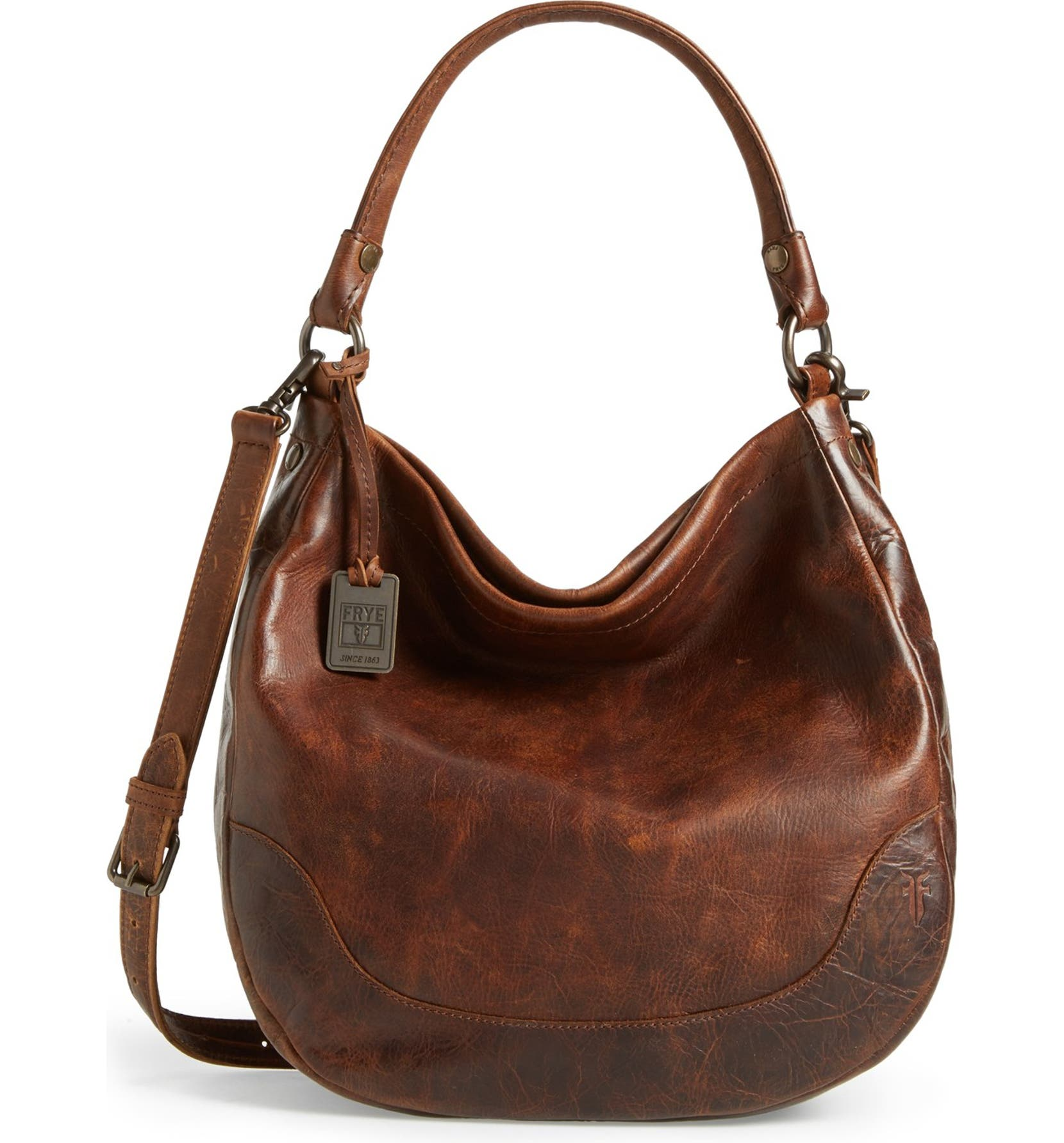 Frye Melissa Leather Hobo  d189aabfd650e
