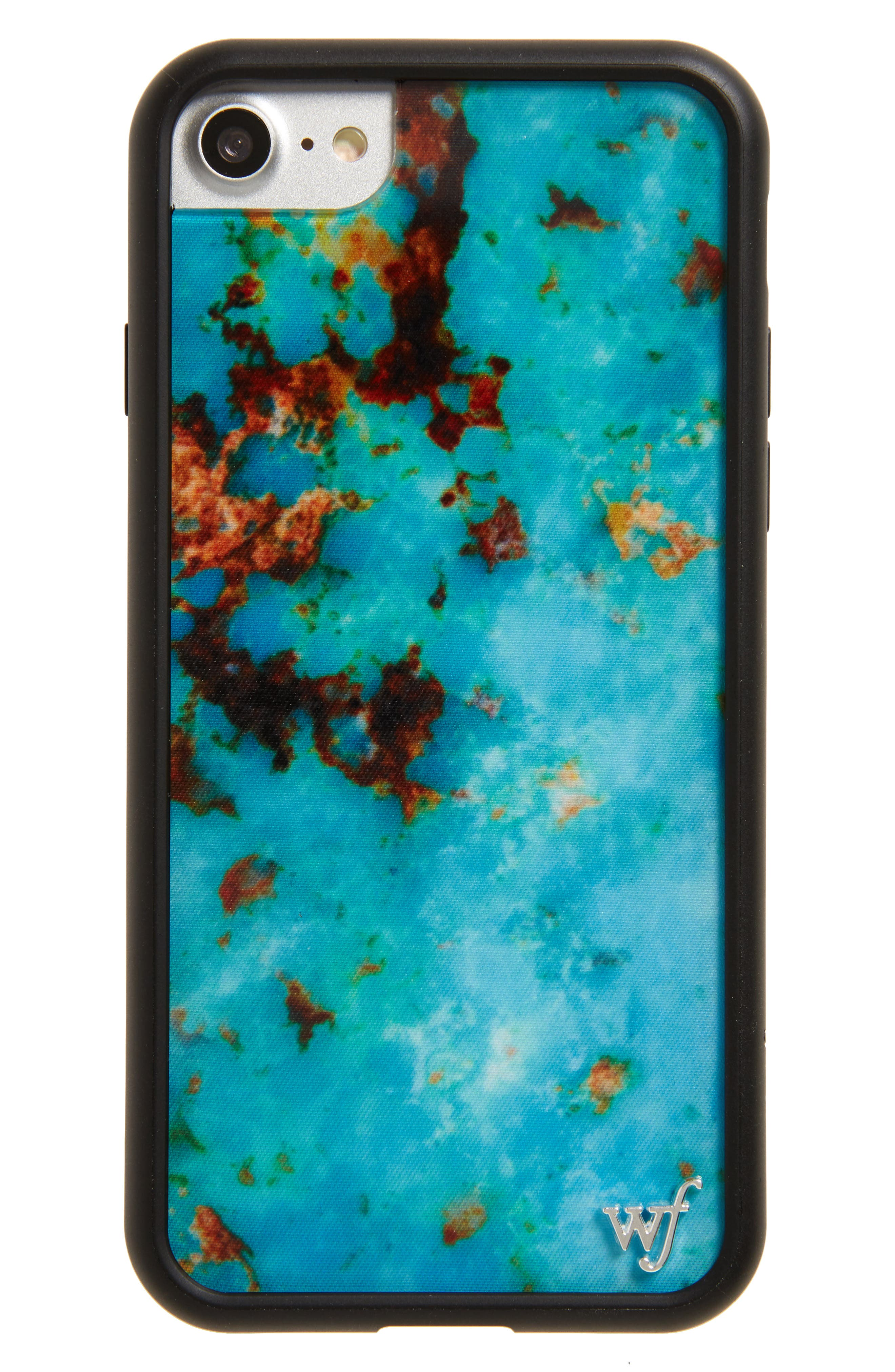 Turquoise iPhone 7 Case,                             Main thumbnail 1, color,                             440