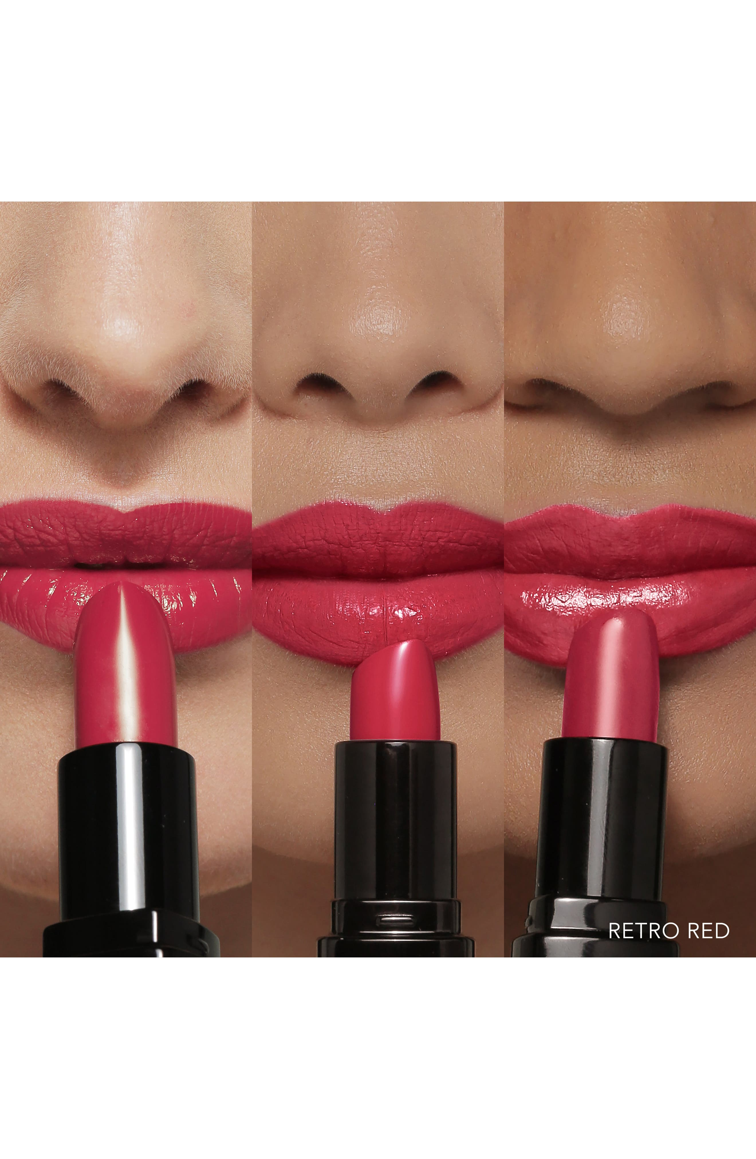 Luxe Lipstick,                             Alternate thumbnail 3, color,                             RETRO RED