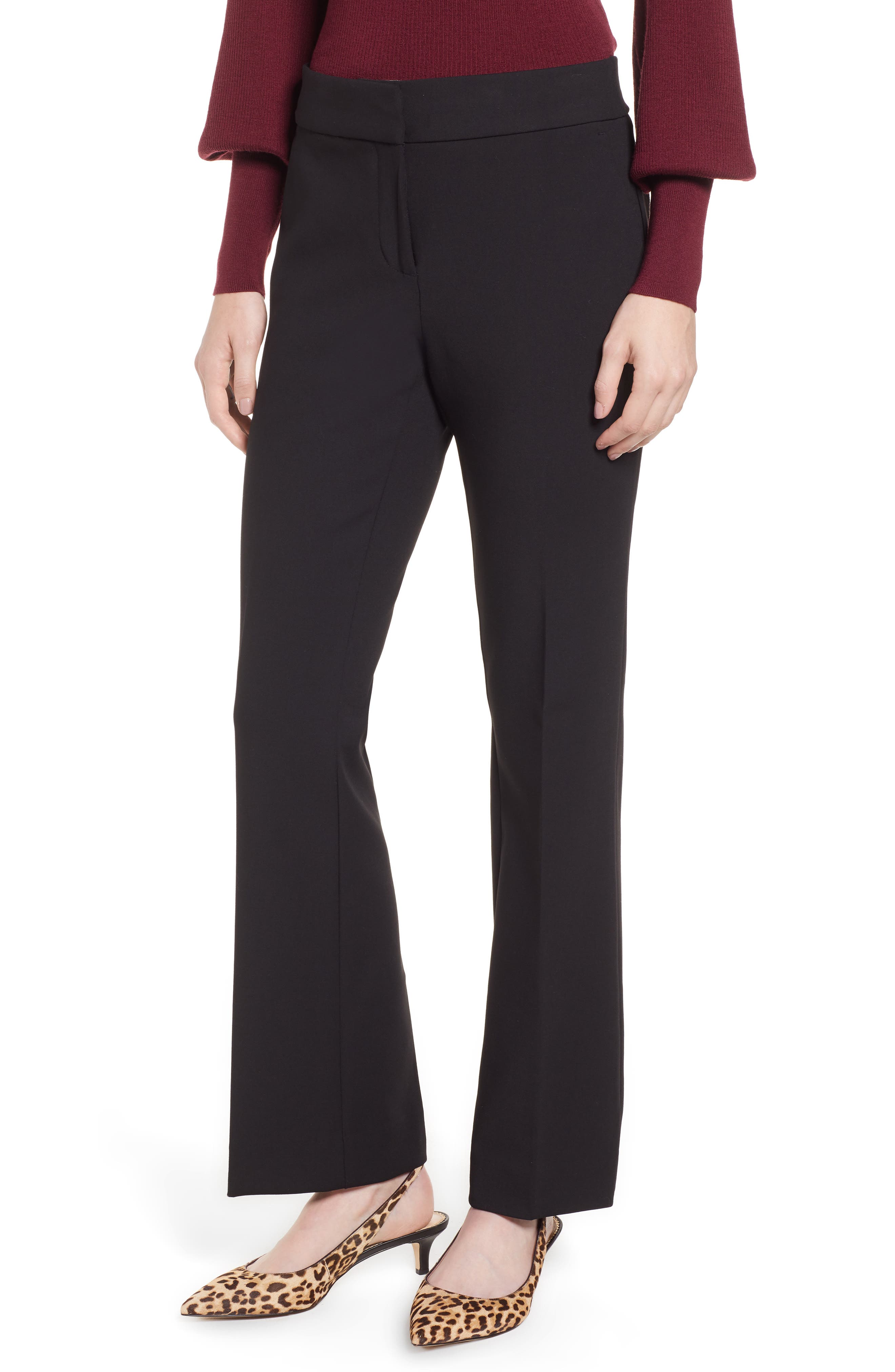 Edie Full Length Trouser in Four-Season Stretch,                         Main,                         color, 001