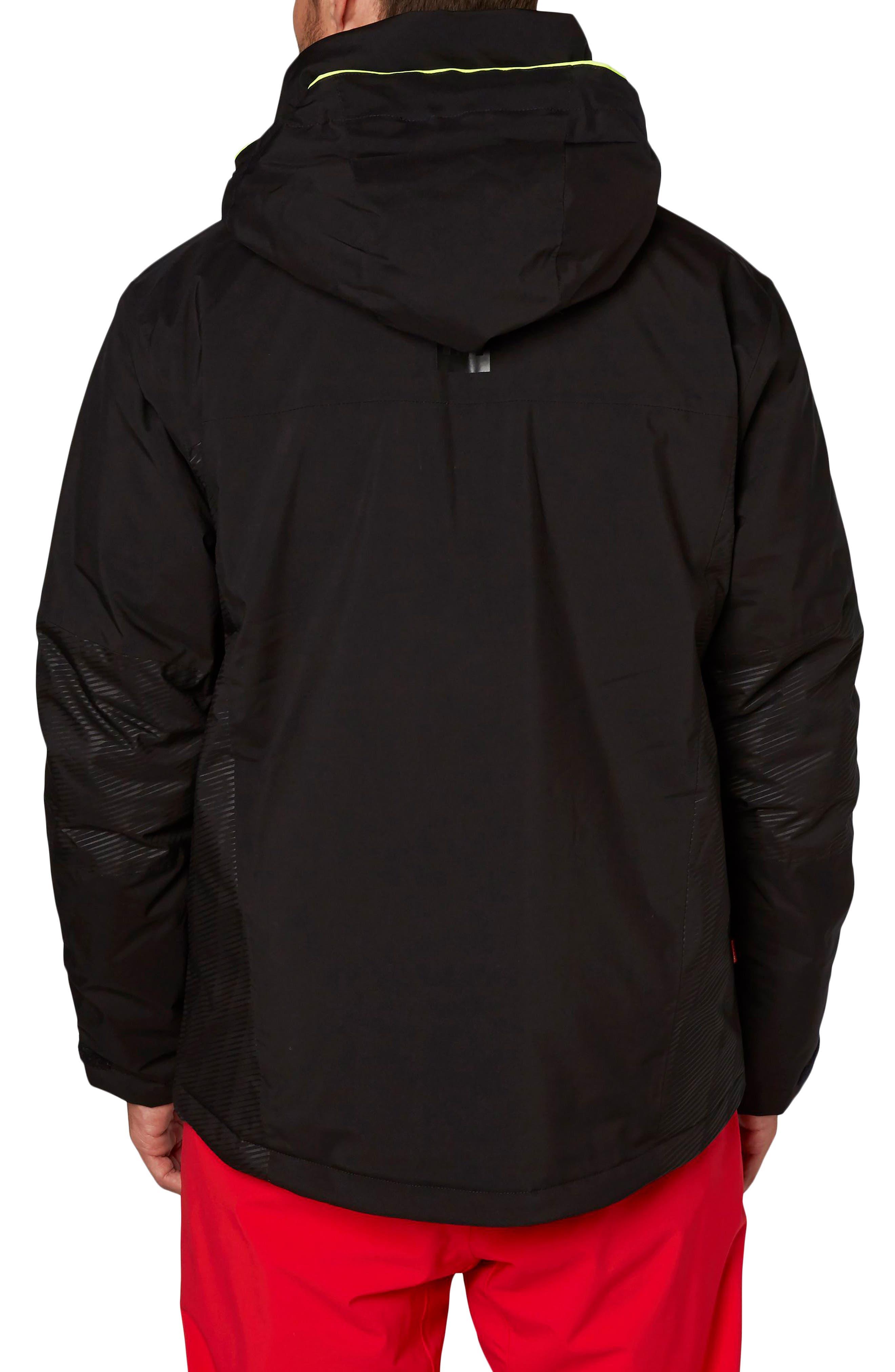Double Diamond Waterproof Jacket,                             Alternate thumbnail 2, color,                             001