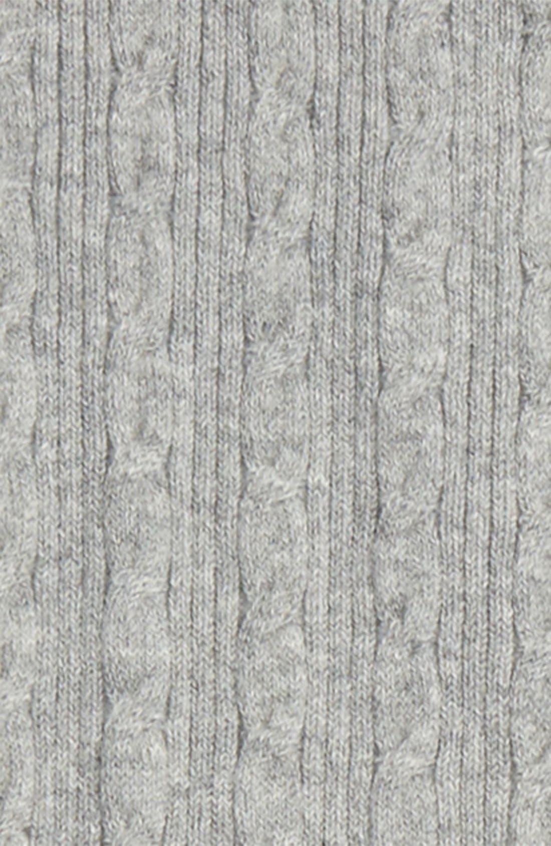 Cable Knit Sweater Leggings,                             Alternate thumbnail 2, color,                             030