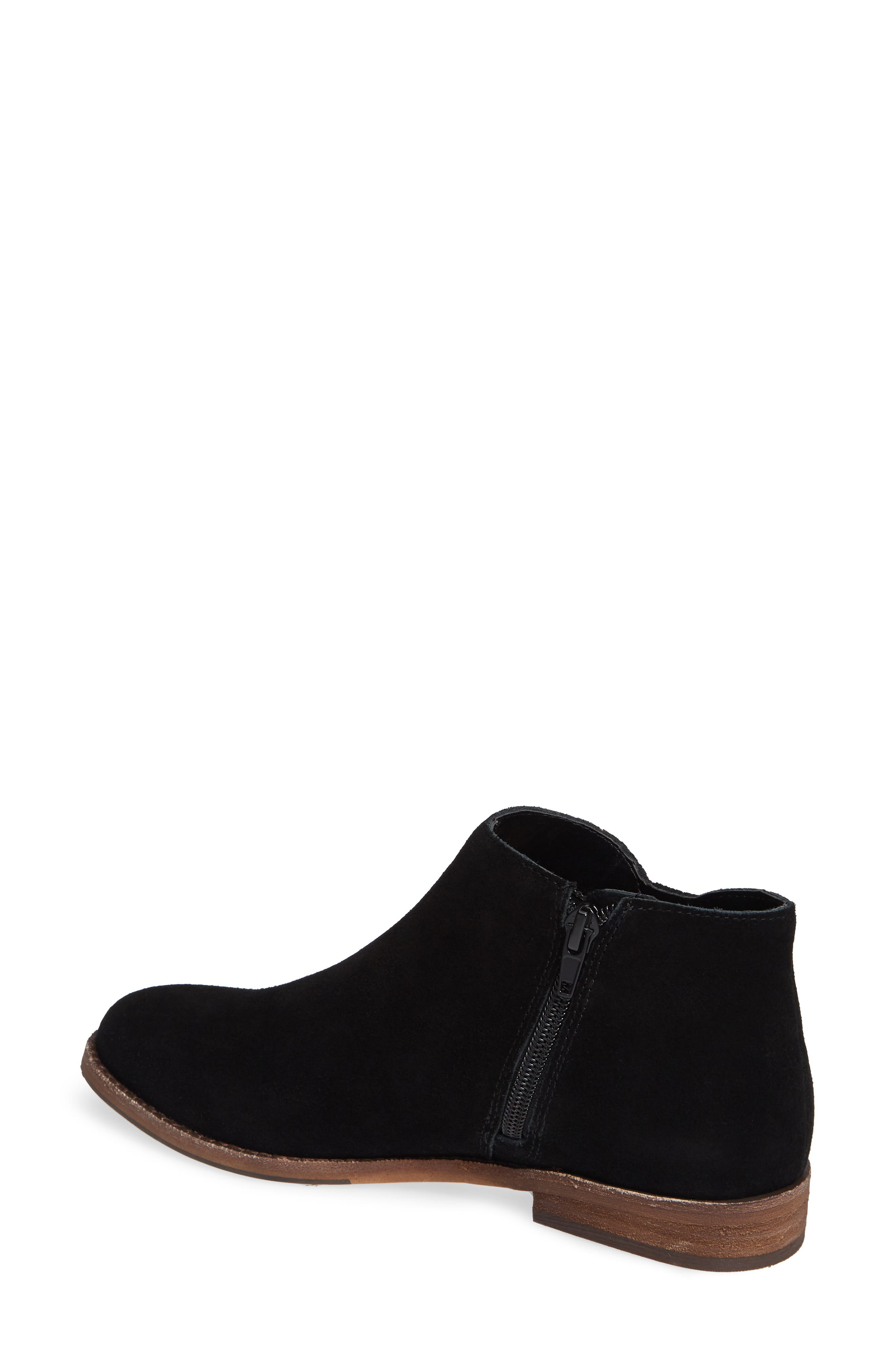 Bevlyn Bootie,                             Alternate thumbnail 2, color,                             BLACK SUEDE