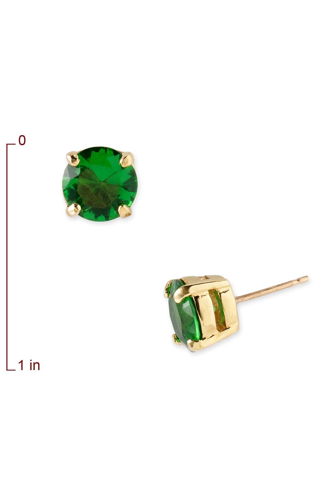 KATE SPADE NEW YORK,                             'cueva rosa' stud earrings,                             Alternate thumbnail 2, color,                             300