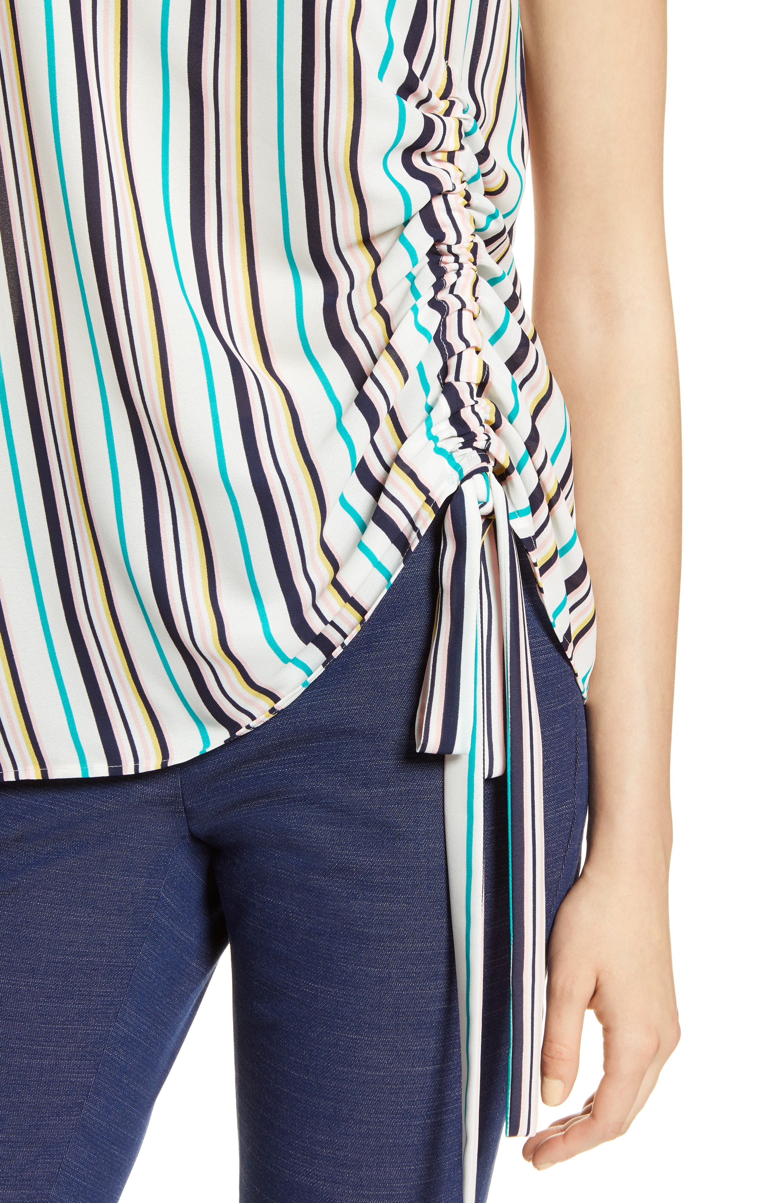 Side Ruched Top,                             Alternate thumbnail 15, color,