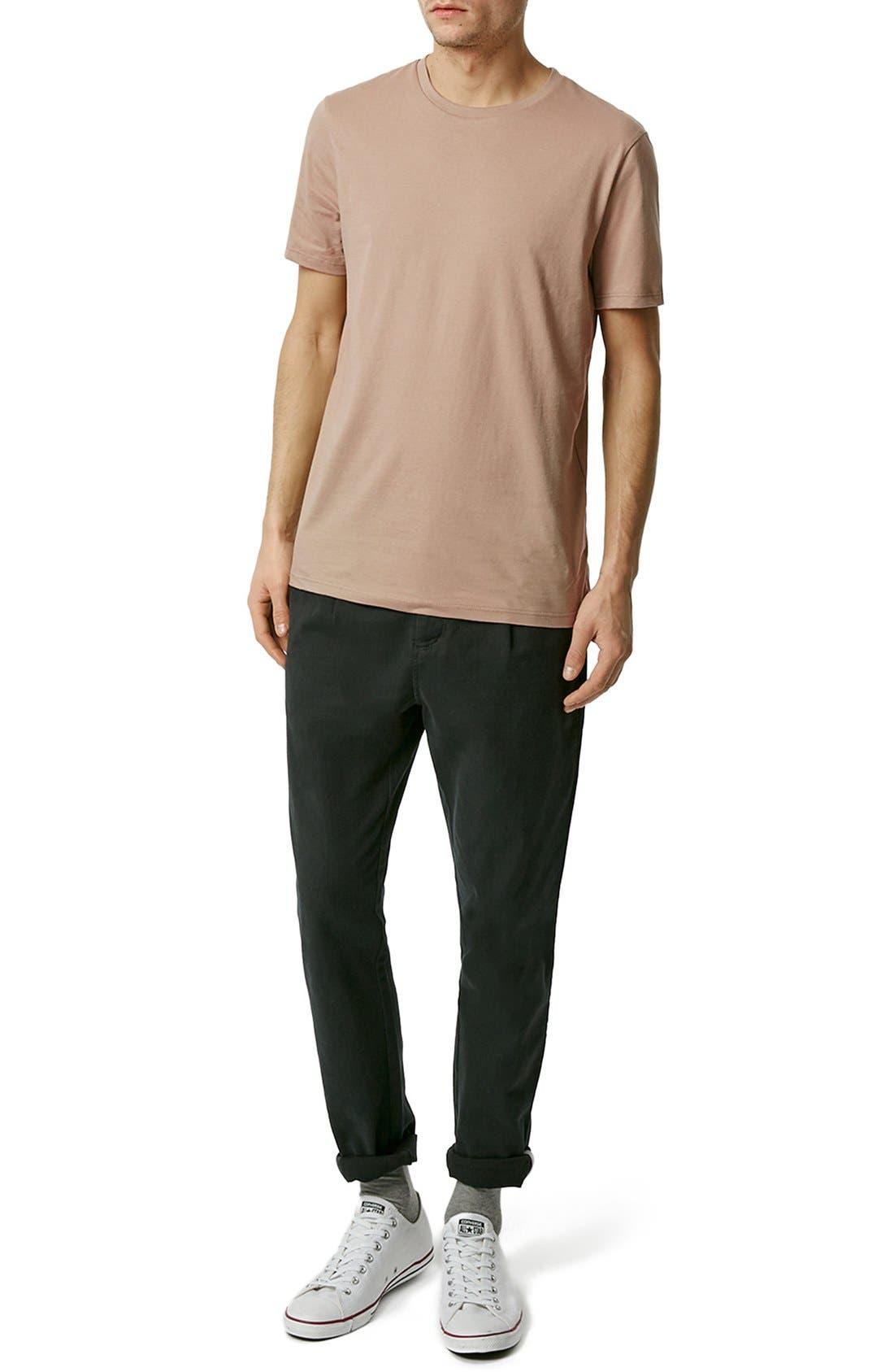 Slim Fit Crewneck T-Shirt,                             Alternate thumbnail 328, color,