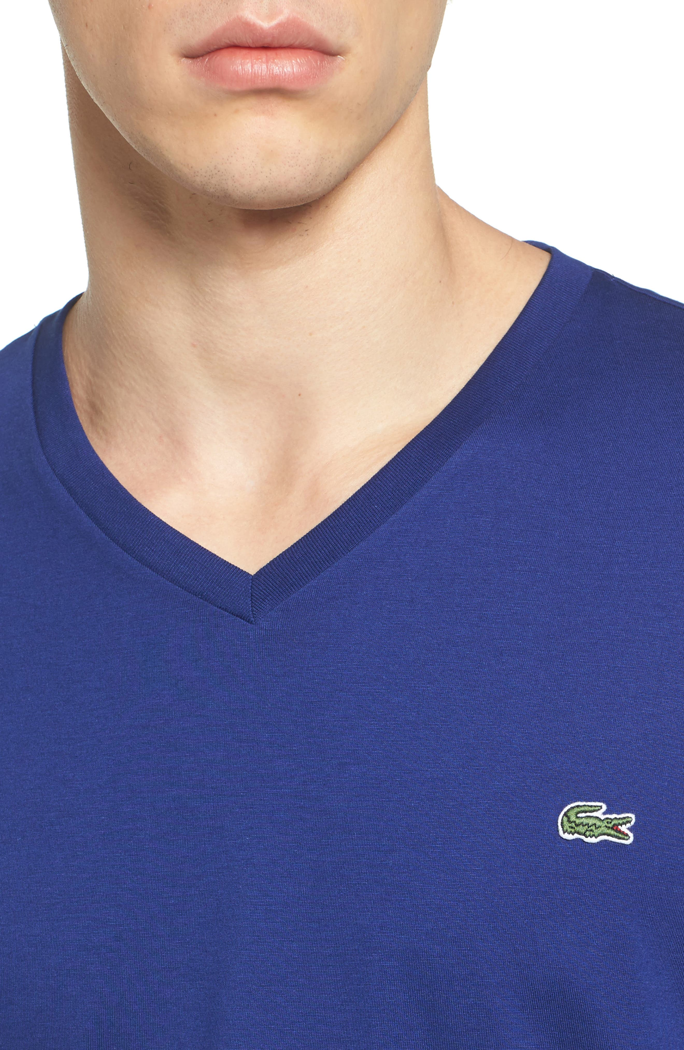 V-Neck T-Shirt,                             Alternate thumbnail 18, color,