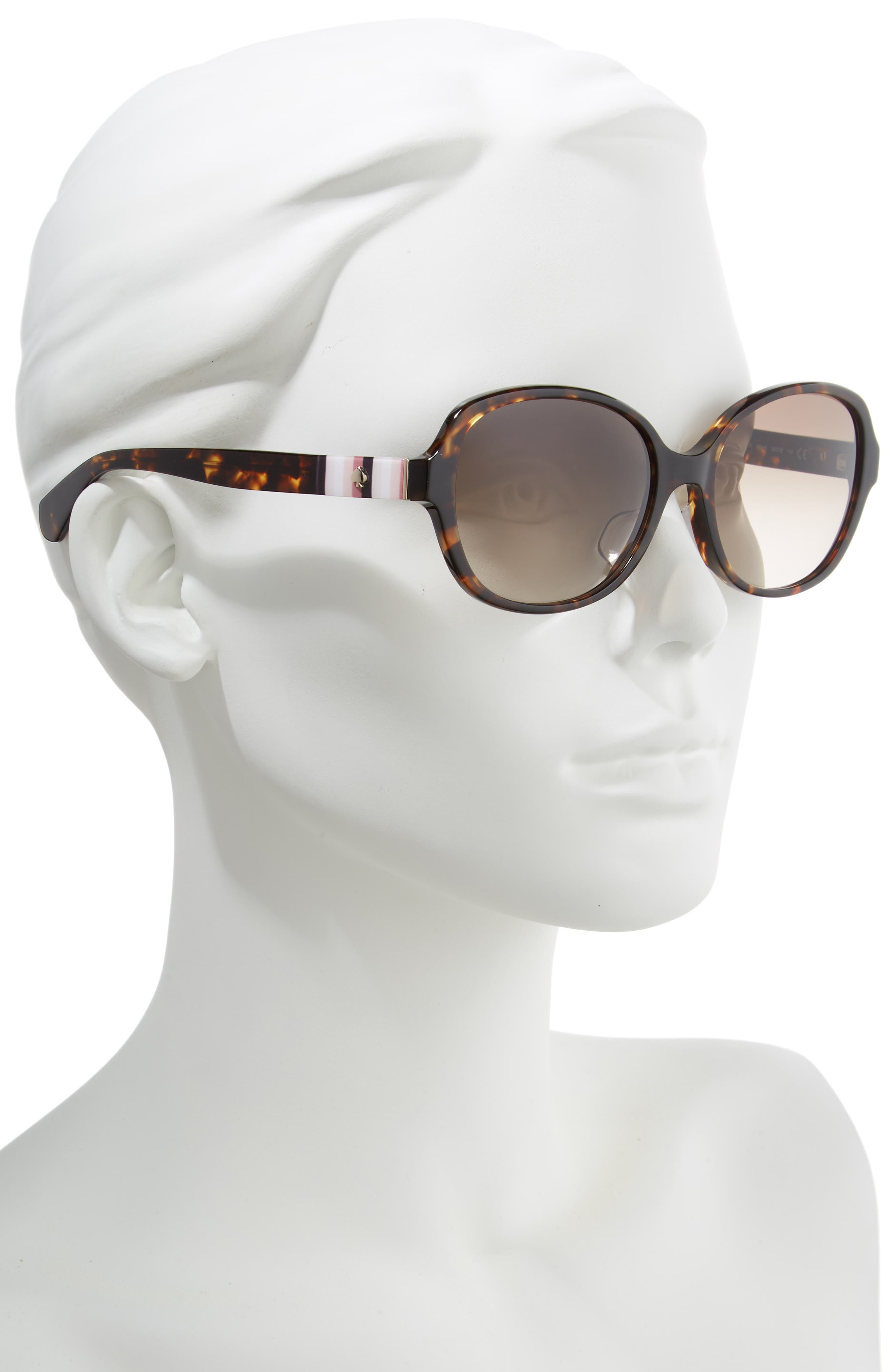 cailee 56mm special fit sunglasses,                             Alternate thumbnail 2, color,                             DARK HAVANA
