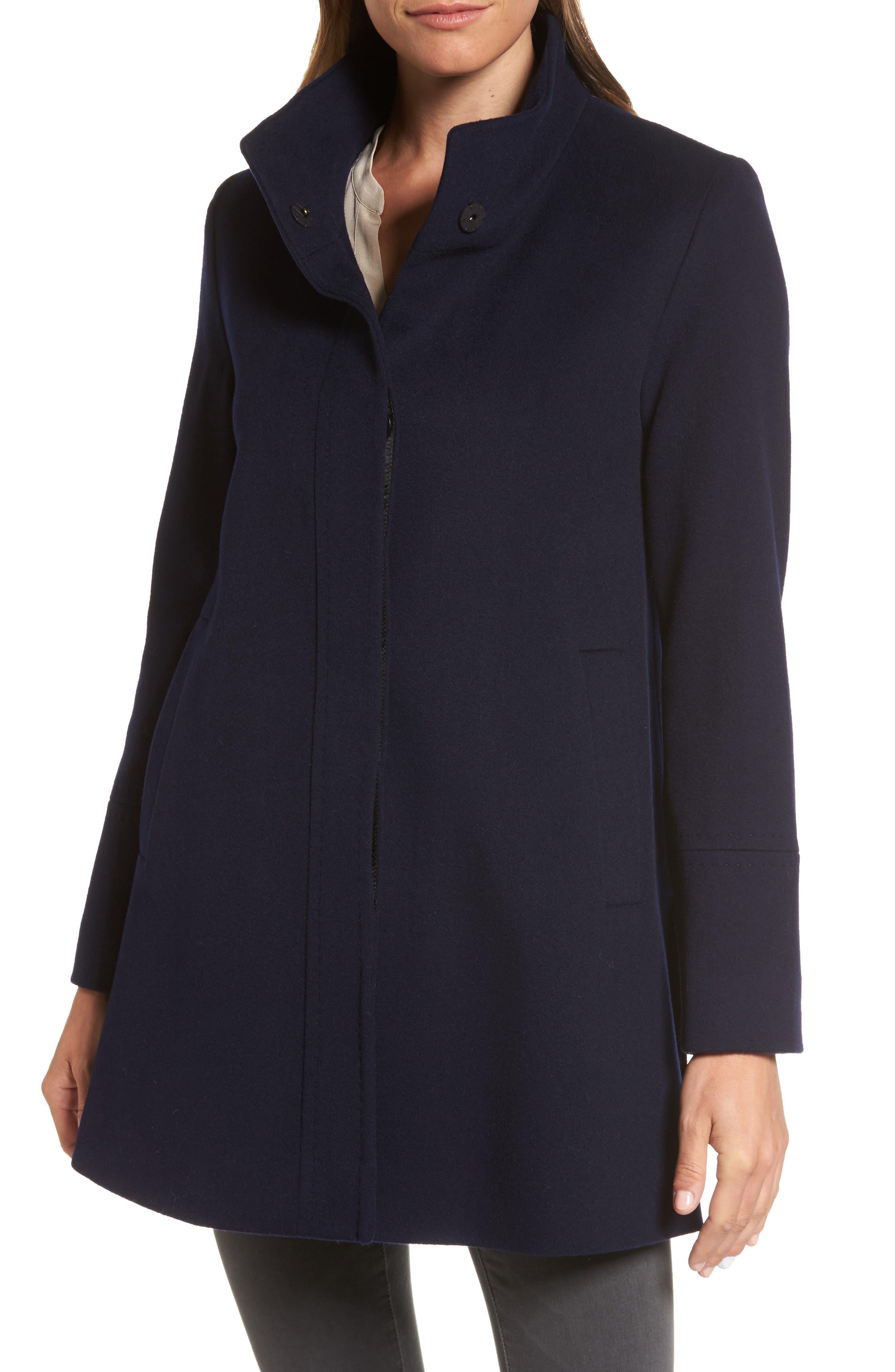 Wool Car Coat,                         Main,                         color, 004