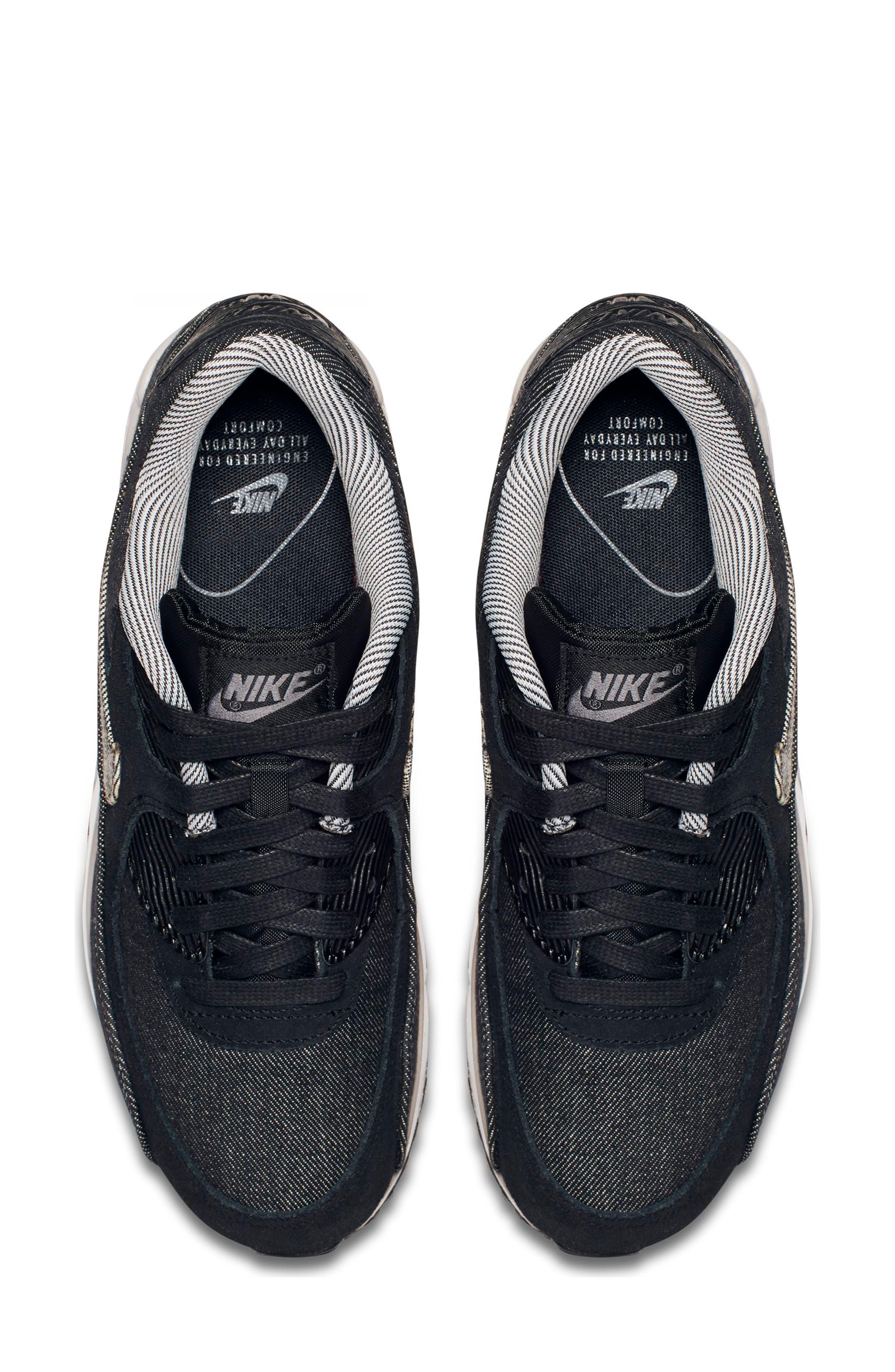 Air Max 90 SE Sneaker,                             Alternate thumbnail 41, color,