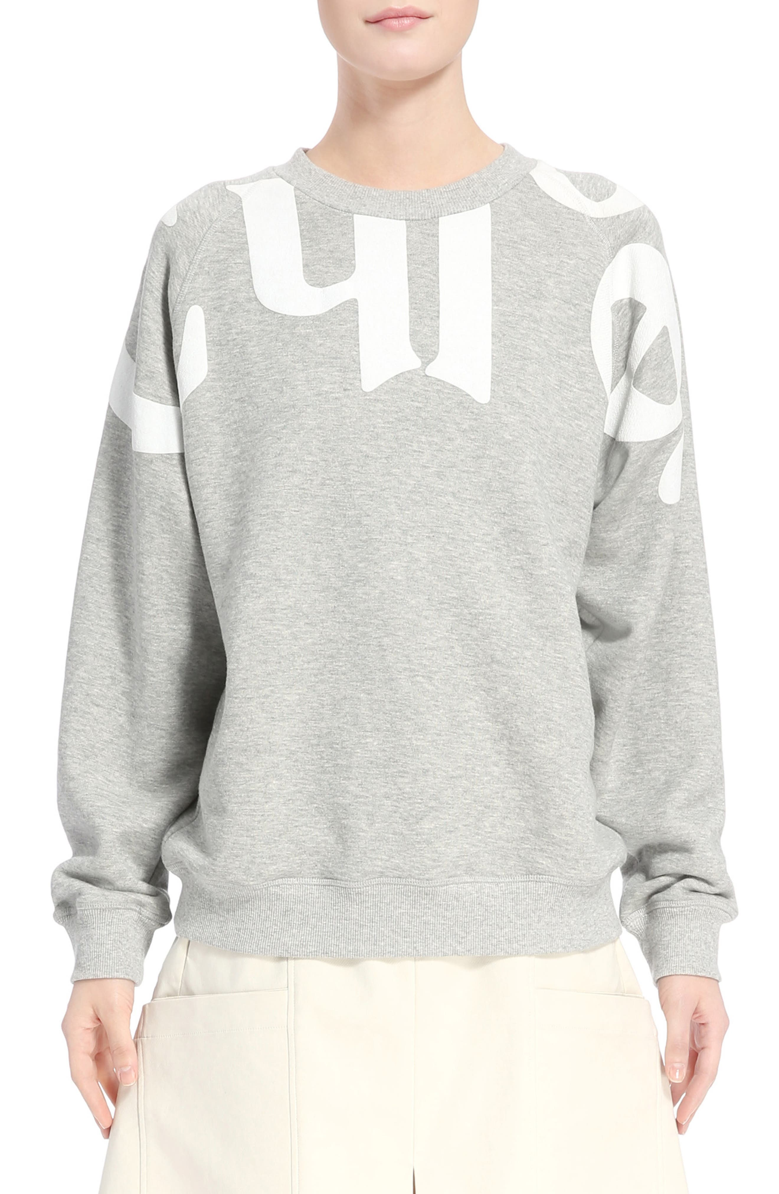 Logo Sweatshirt,                             Main thumbnail 1, color,                             030