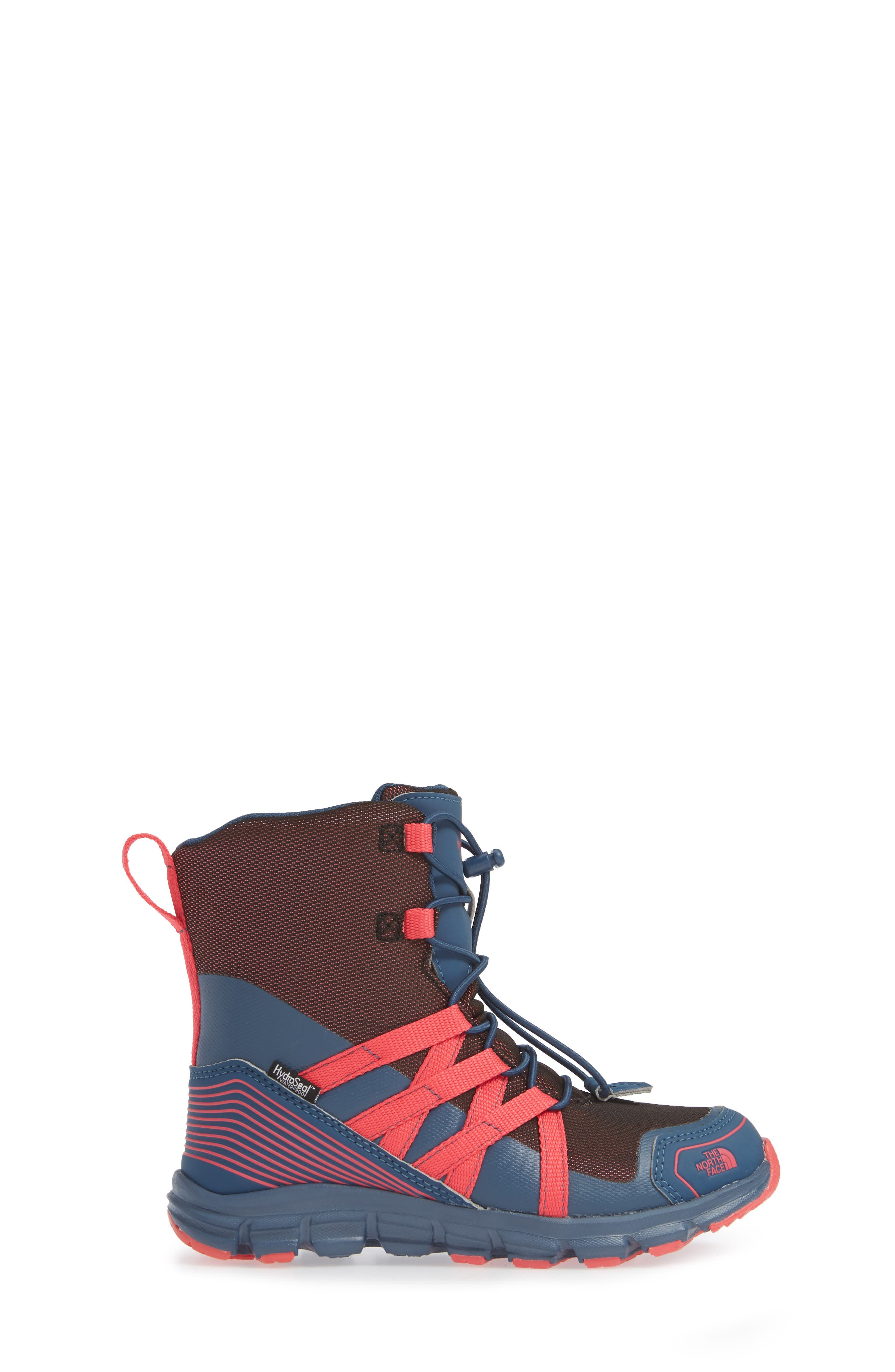 Junior Winter Sneaker Waterproof Insulated Boot,                             Alternate thumbnail 3, color,                             BLUE WING TEAL/ ATOMIC PINK