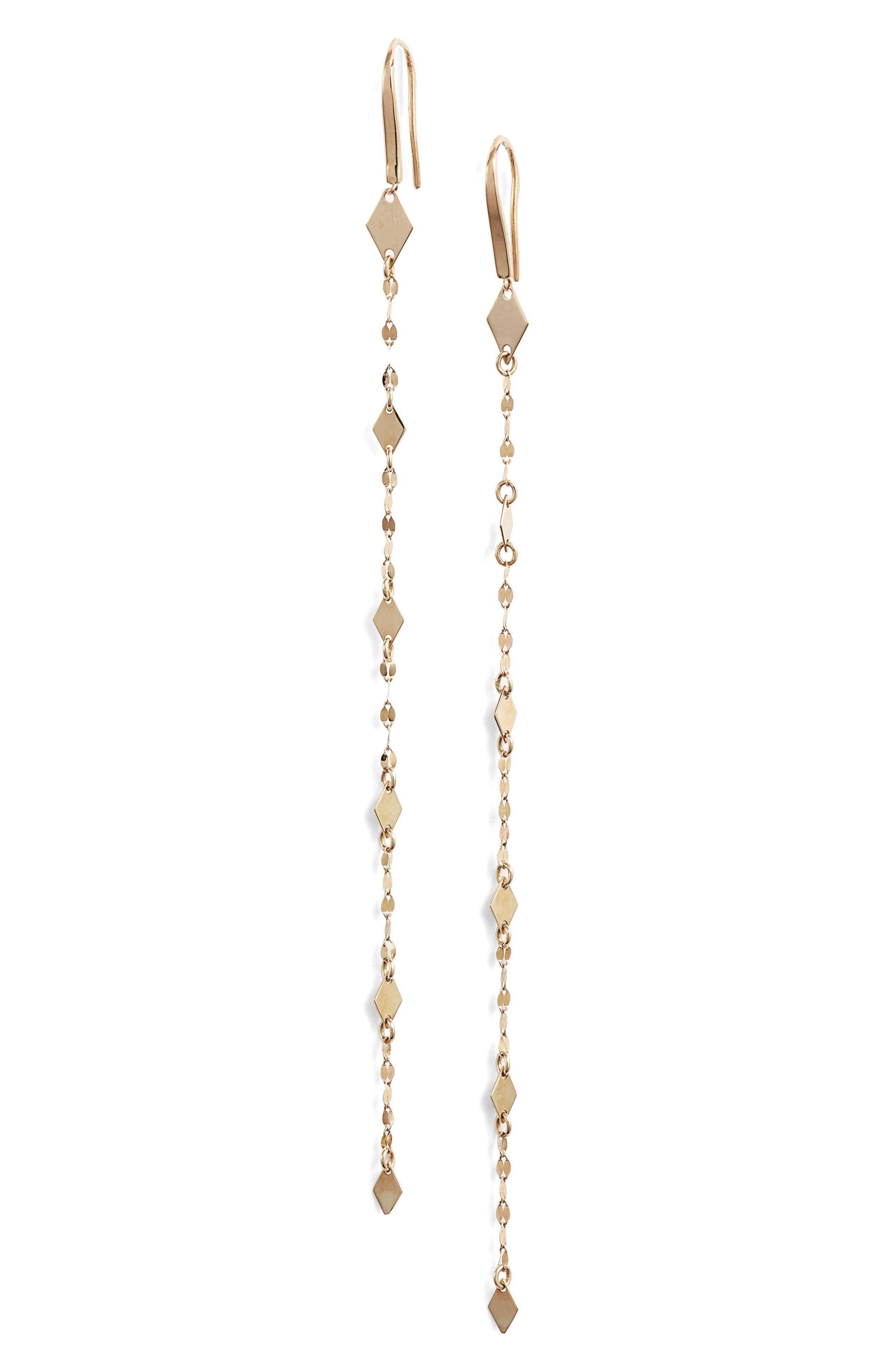 Mismatch Mini Kite Duster Earrings,                             Main thumbnail 1, color,                             GOLD