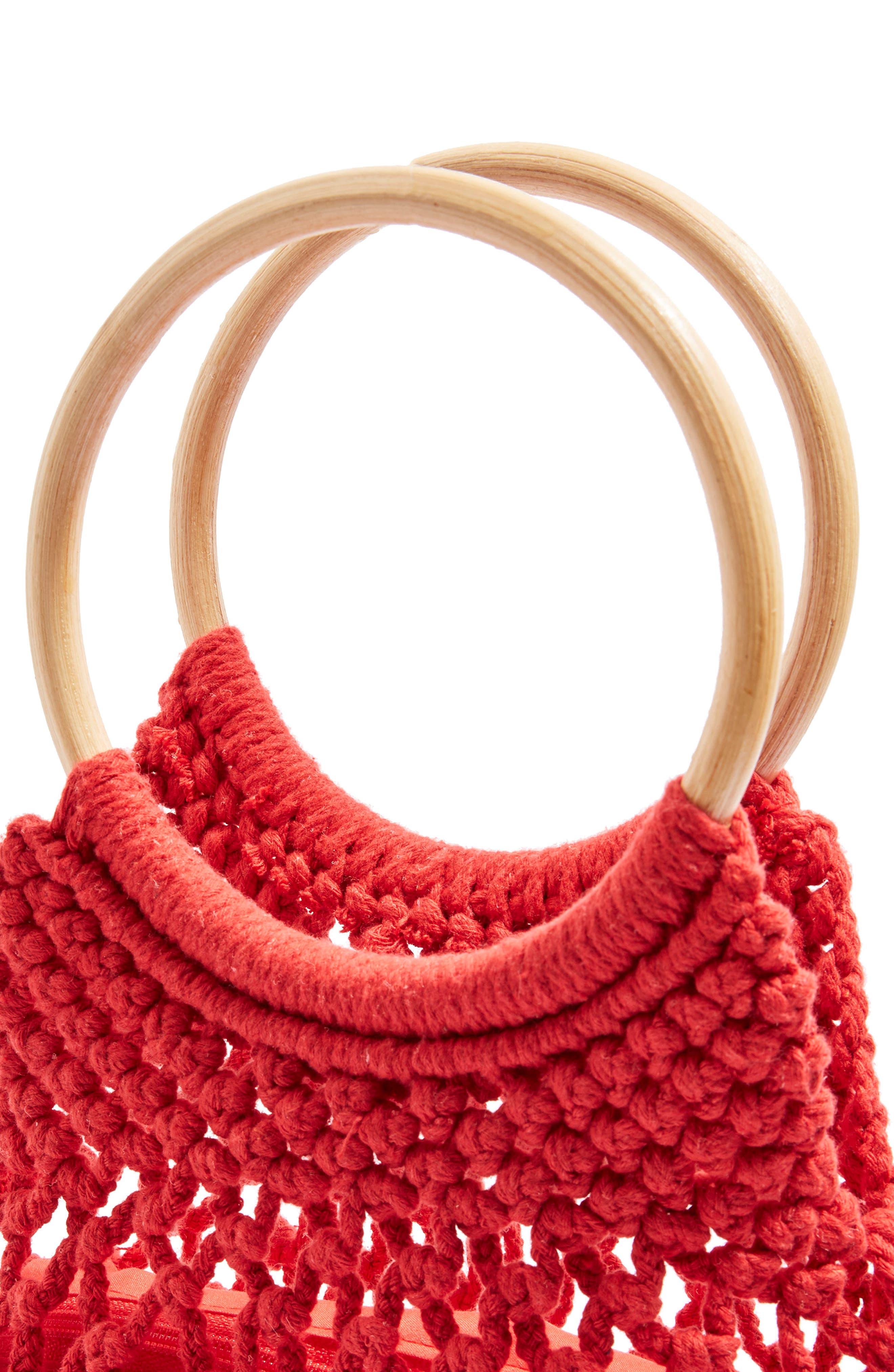 Benny String Shopper Bag,                             Alternate thumbnail 3, color,                             600