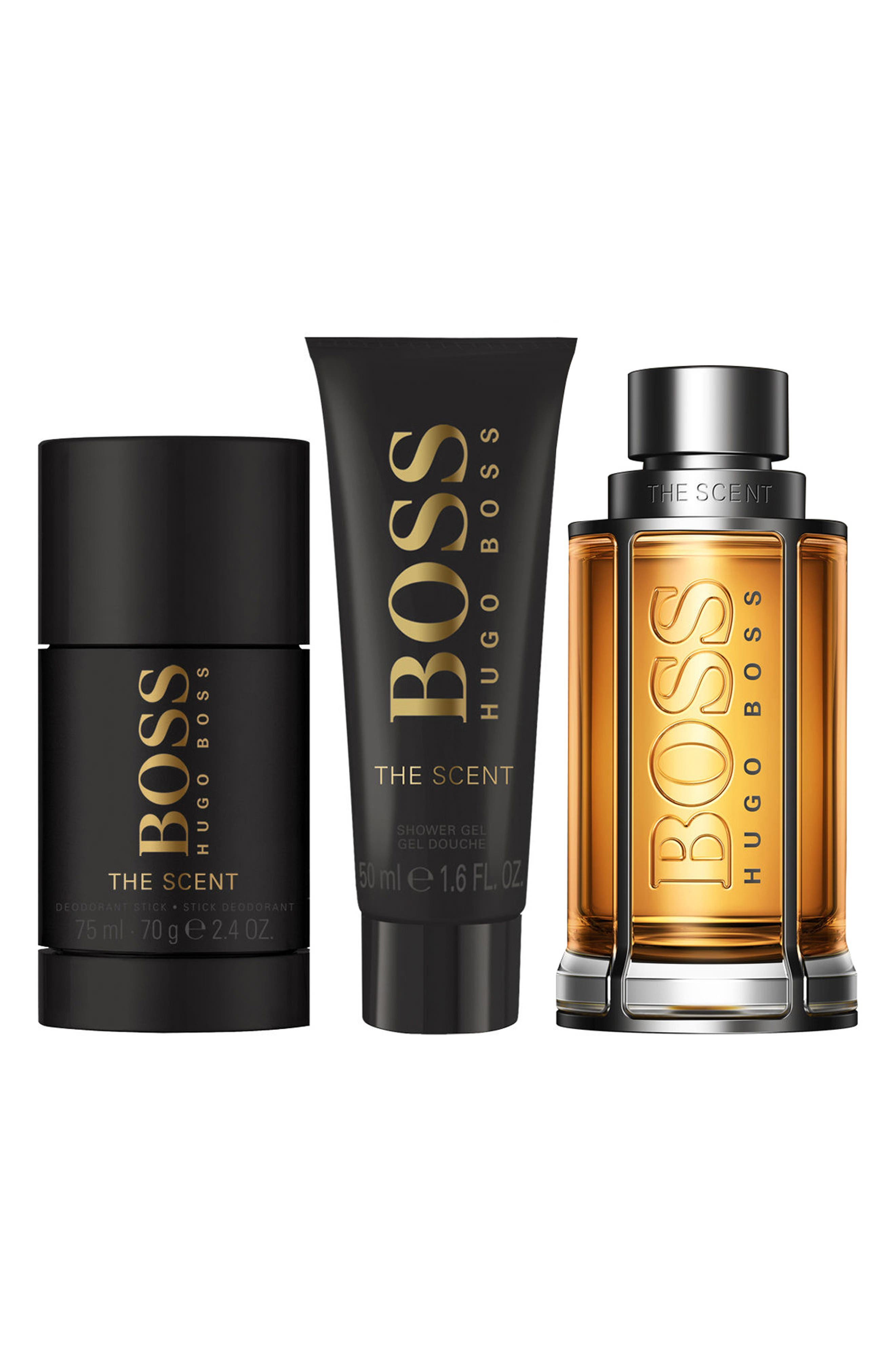 BOSS The Scent Set,                             Main thumbnail 1, color,                             000