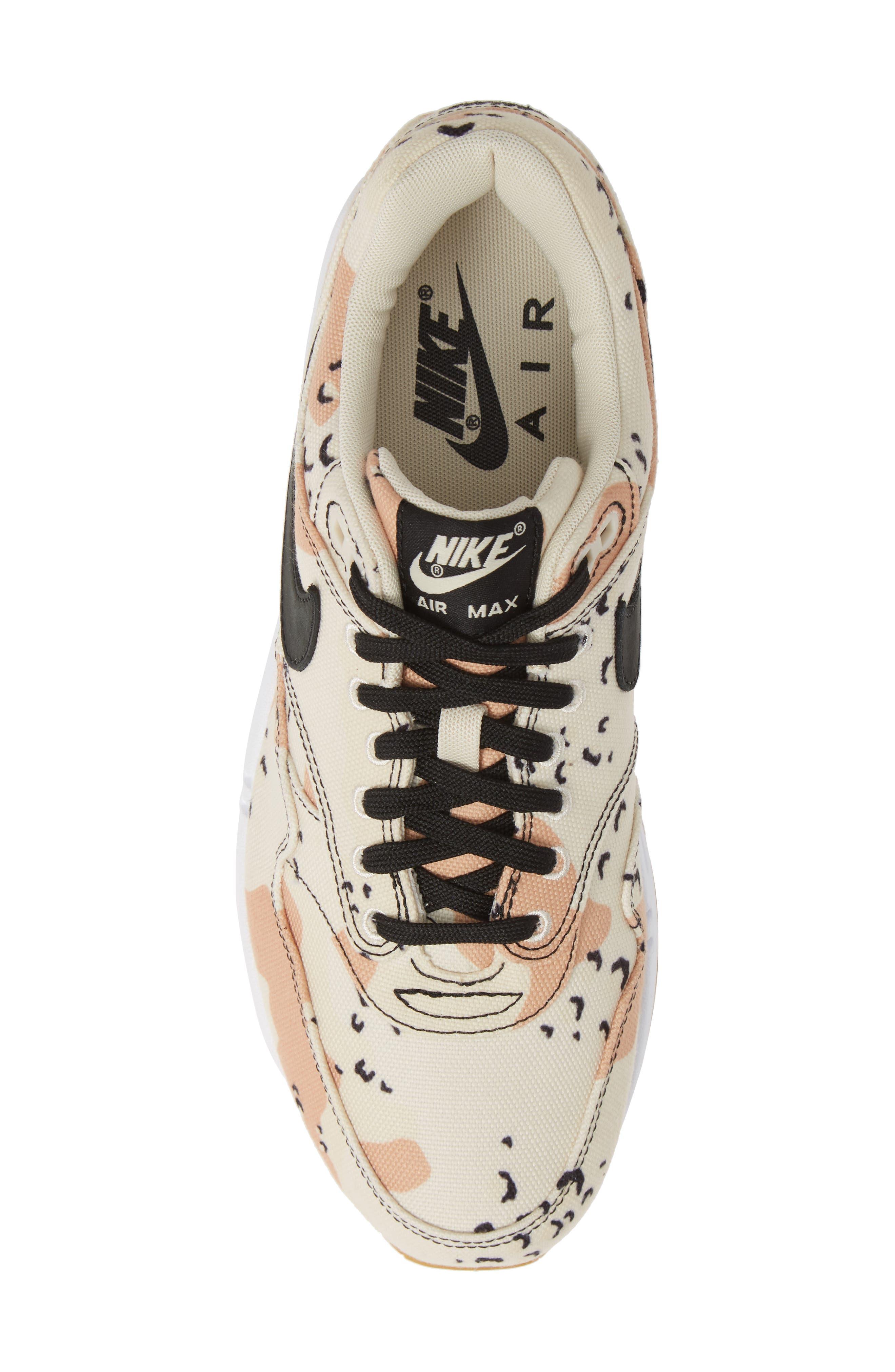 Air Max 1 Premium Sneaker,                             Alternate thumbnail 5, color,                             204