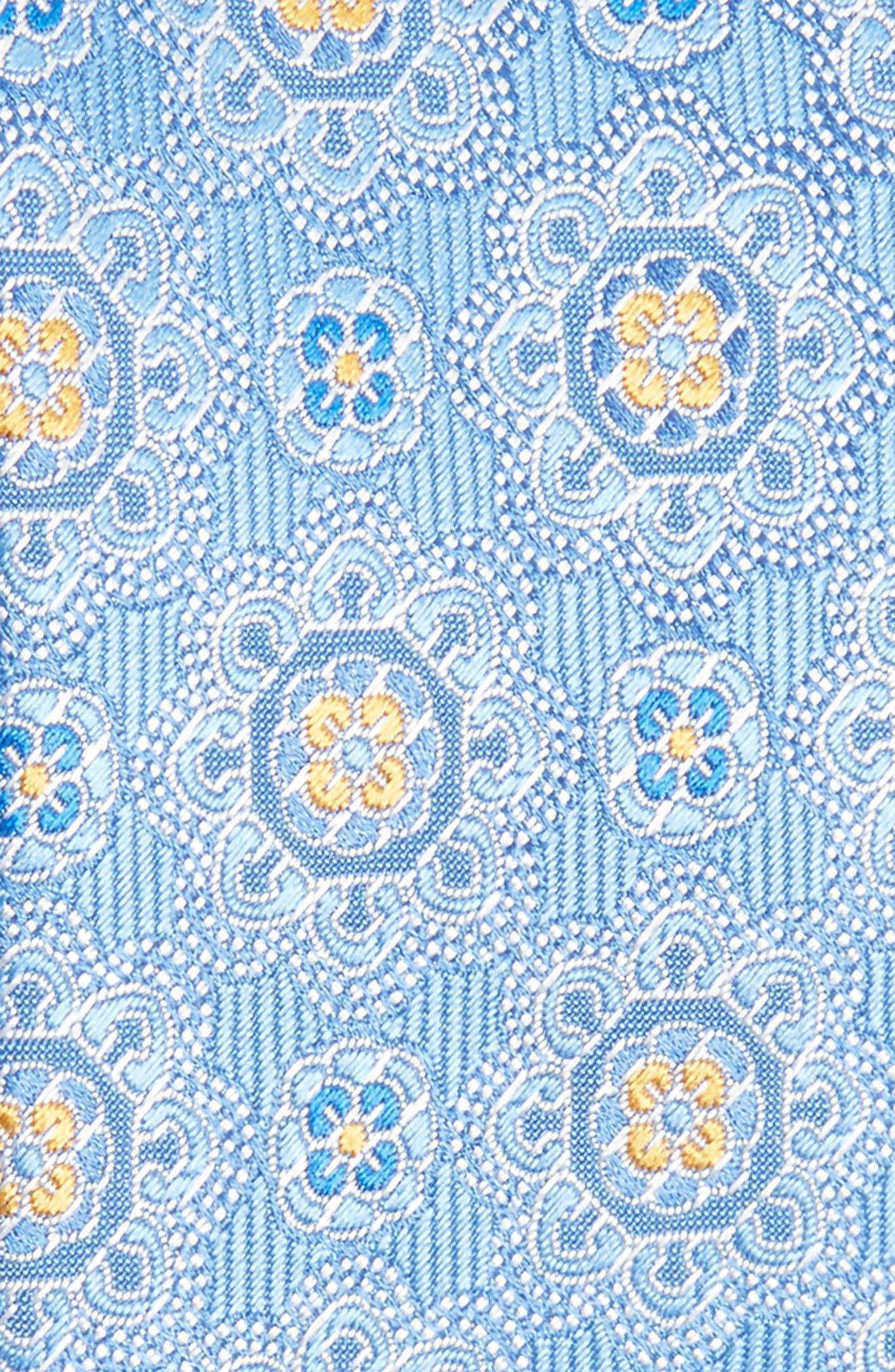 Medallion Silk Tie,                             Alternate thumbnail 2, color,                             330