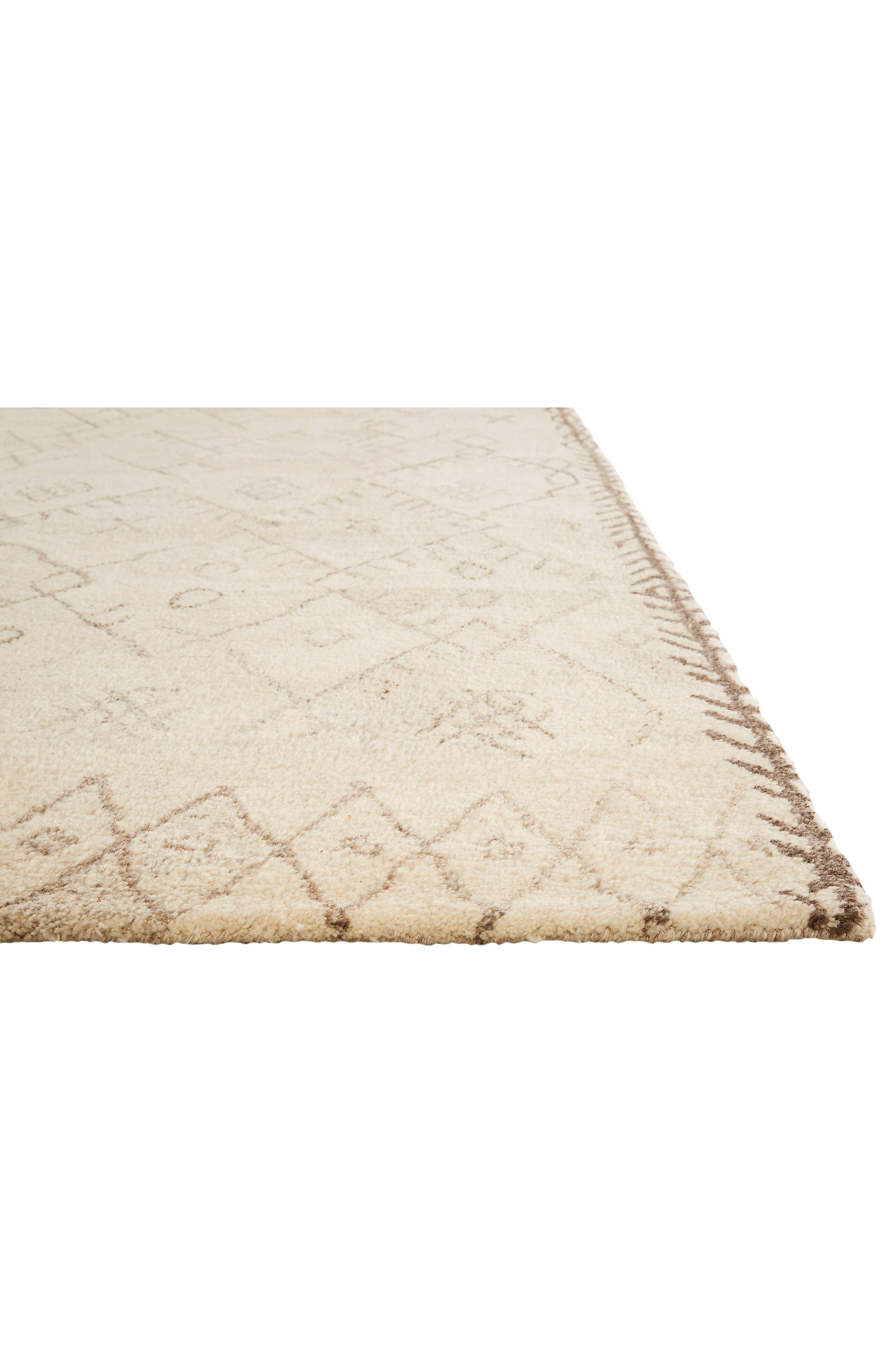 Geo Pattern Wool Rug,                             Alternate thumbnail 3, color,                             250