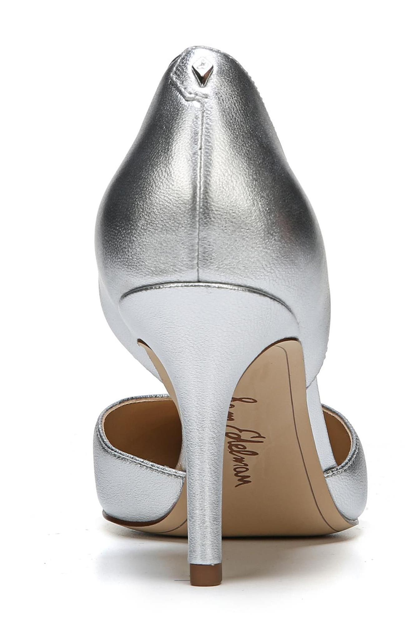 'Telsa' d'Orsay Pointy Toe Pump,                             Alternate thumbnail 7, color,                             040