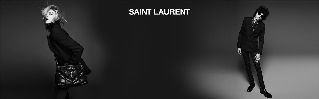 Saint Laurent for women and men.