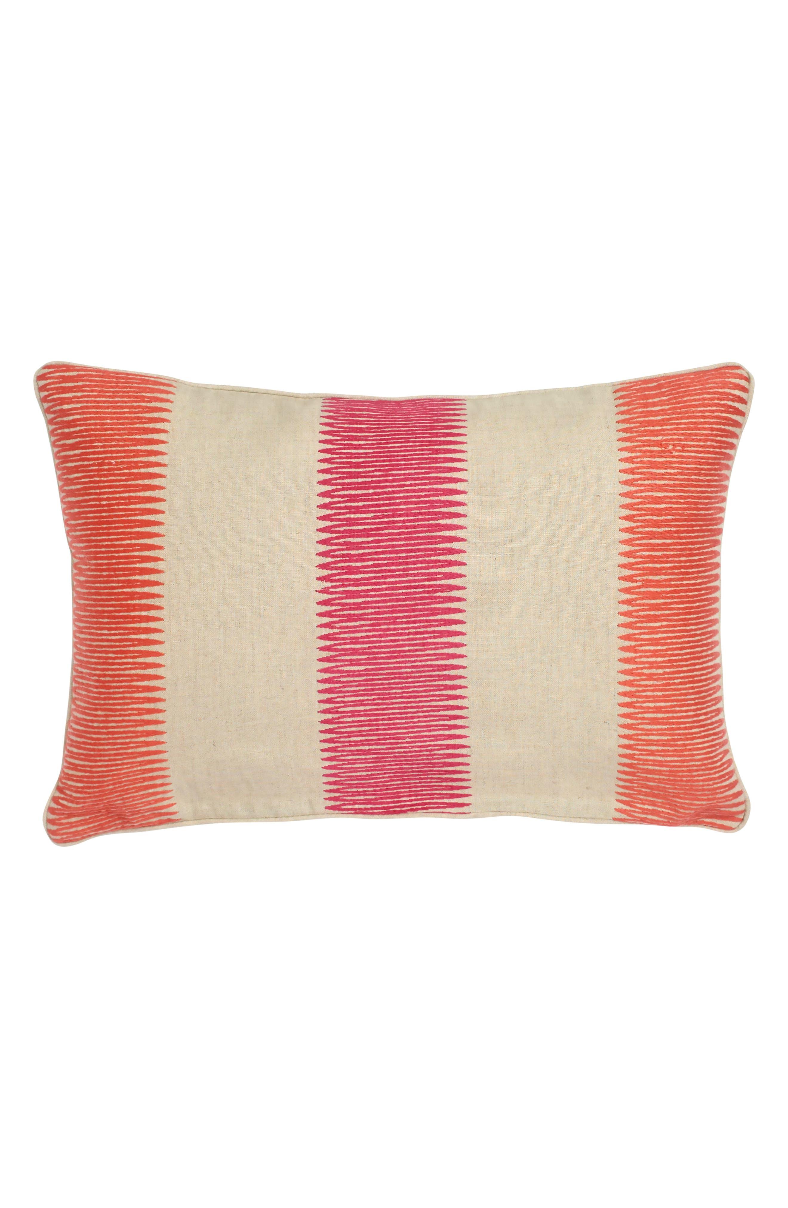 Amazilia Accent Pillow,                             Main thumbnail 1, color,                             TAUPE