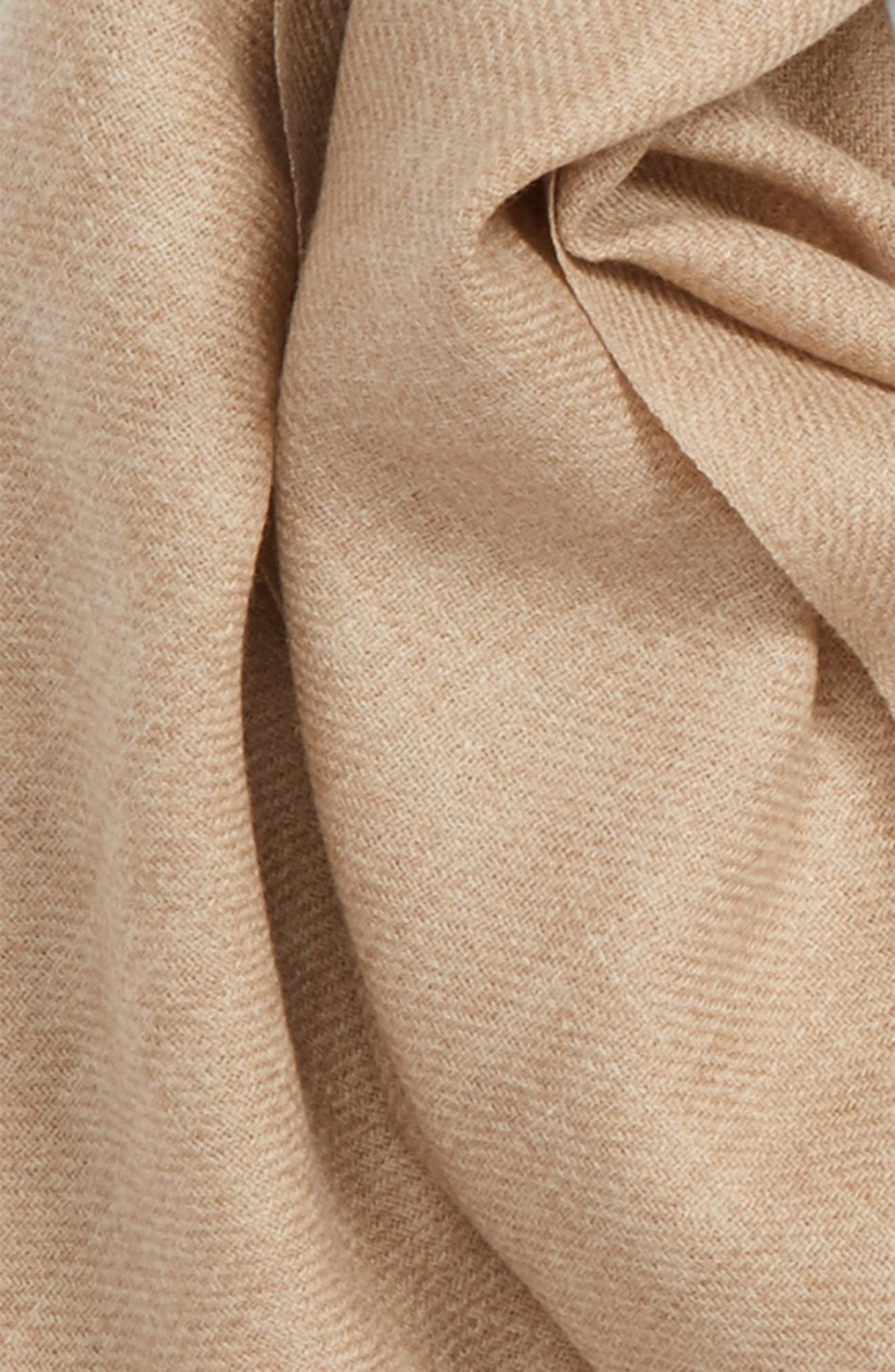 Tissue Weight Wool & Cashmere Scarf,                             Alternate thumbnail 166, color,