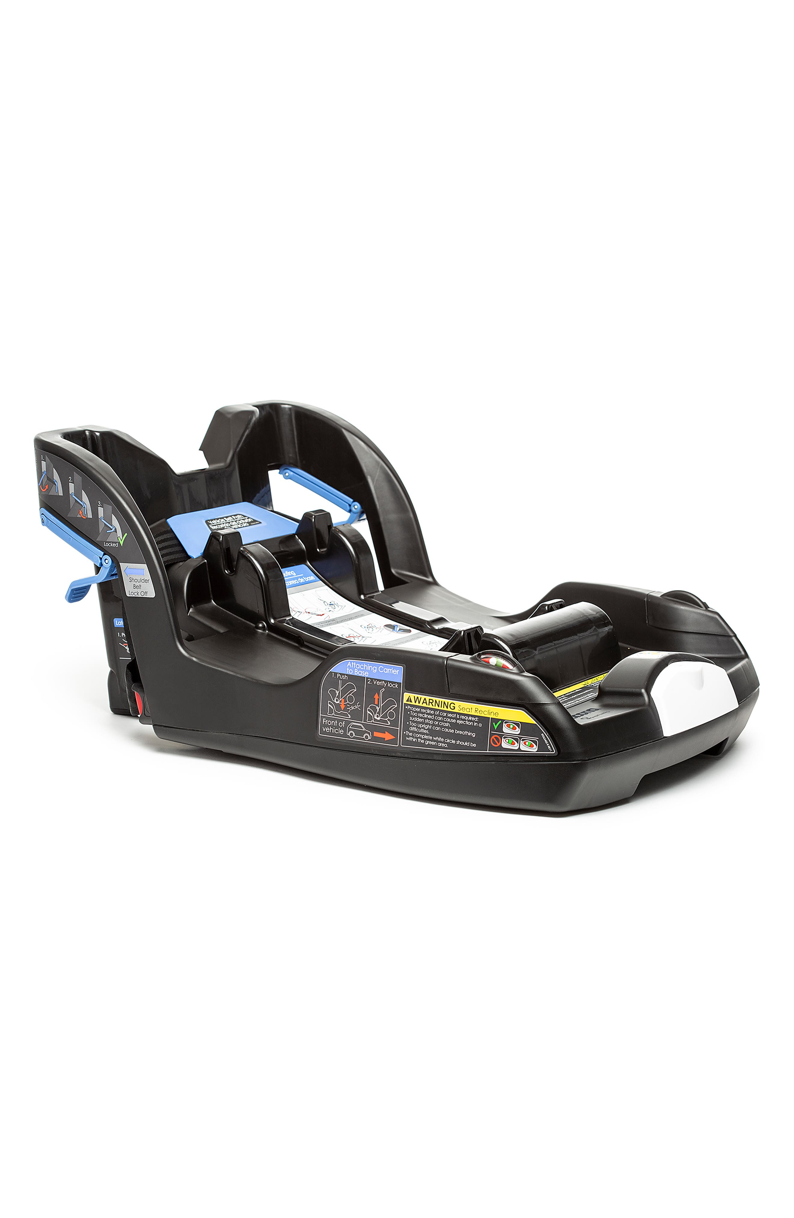 Convertible Infant Car Seat/Compact Stroller System with Base,                             Alternate thumbnail 3, color,                             BLACK/NIGHT