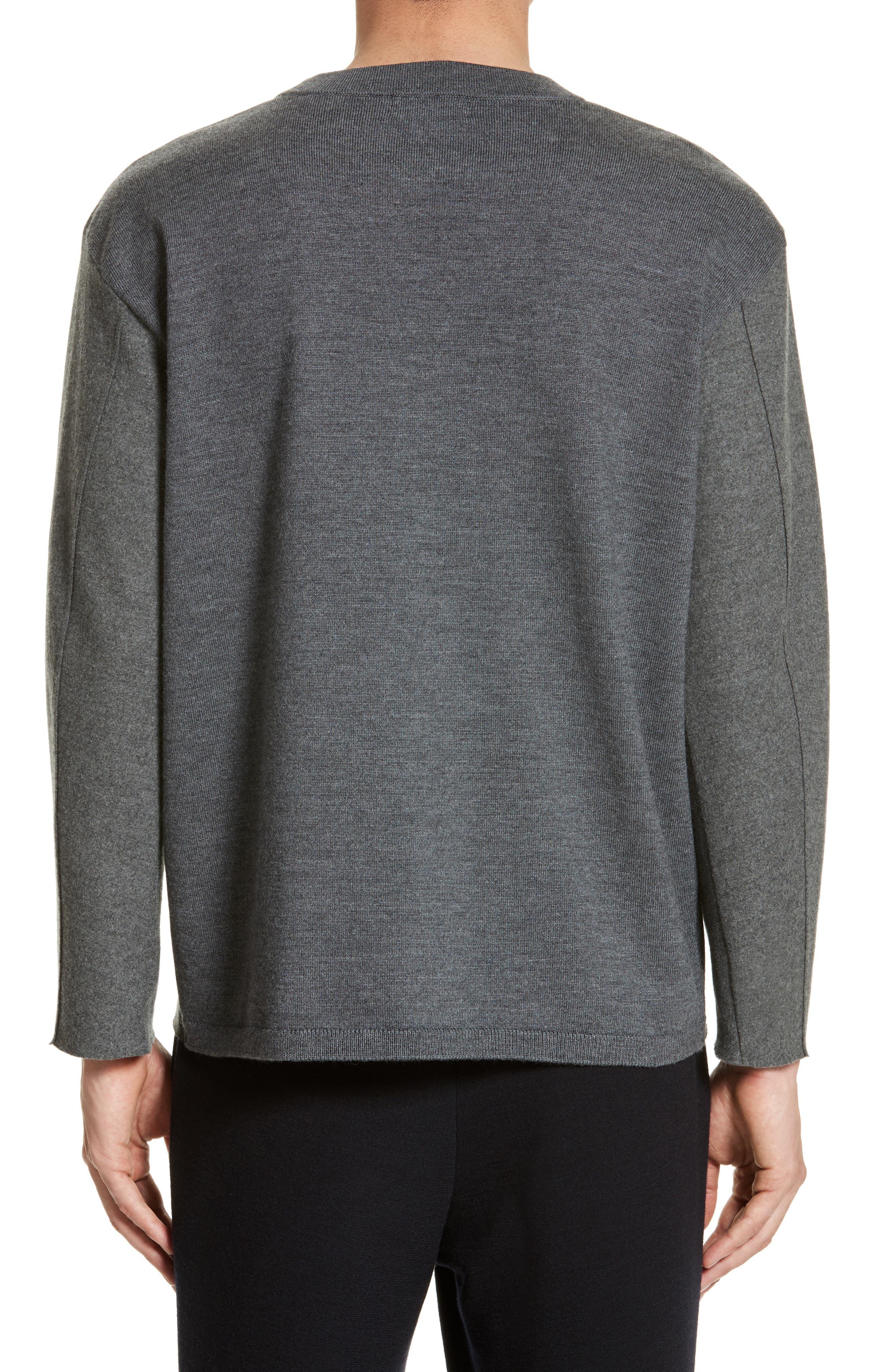 Hyper Compress Sweatshirt,                             Alternate thumbnail 2, color,                             020