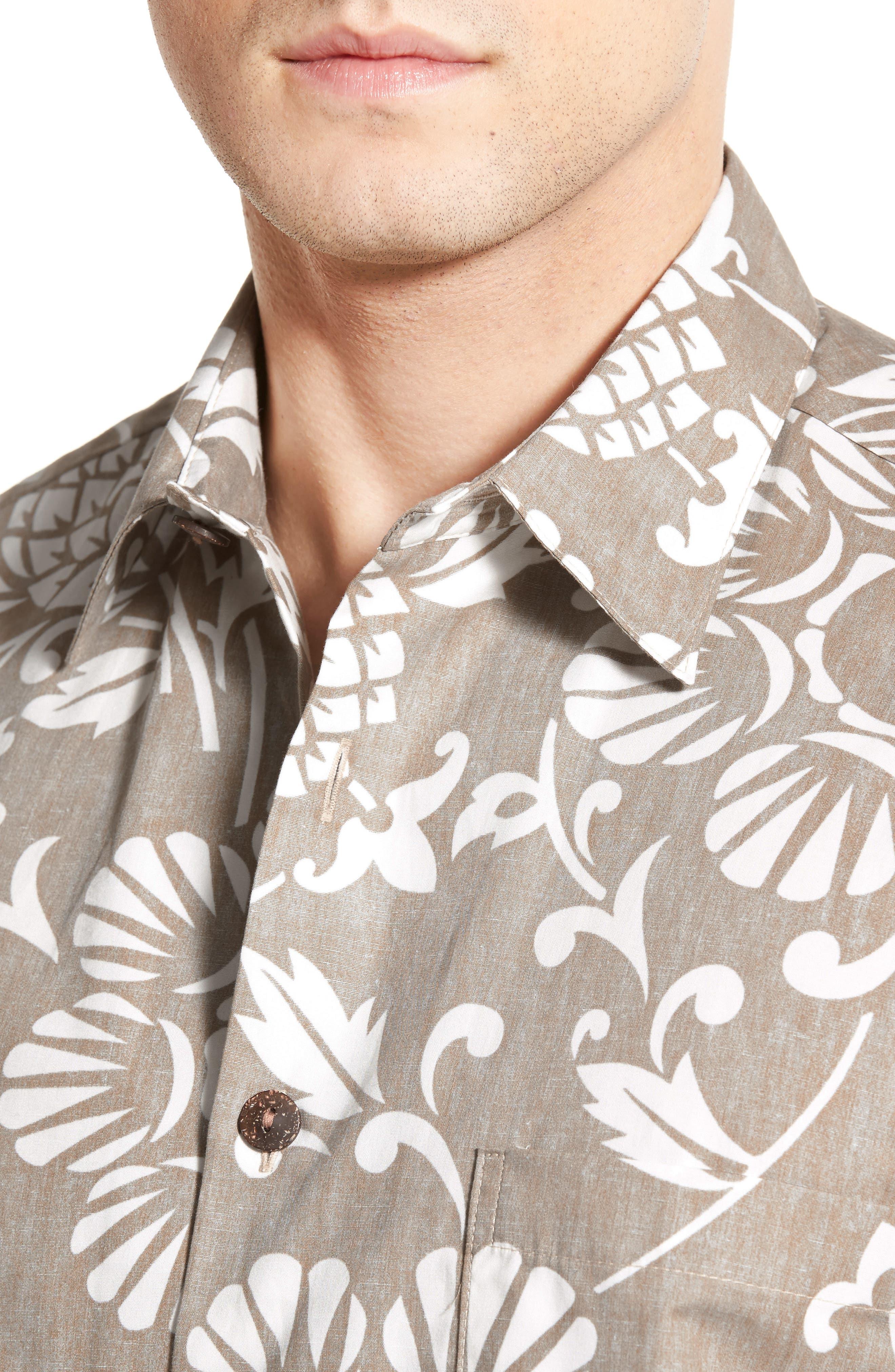'Dukes Par' Regular Fit Sport Shirt,                             Alternate thumbnail 4, color,                             210