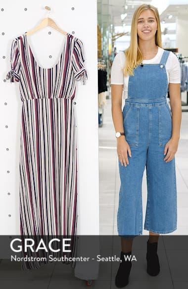 Tie Sleeve Maxi Dress, sales video thumbnail