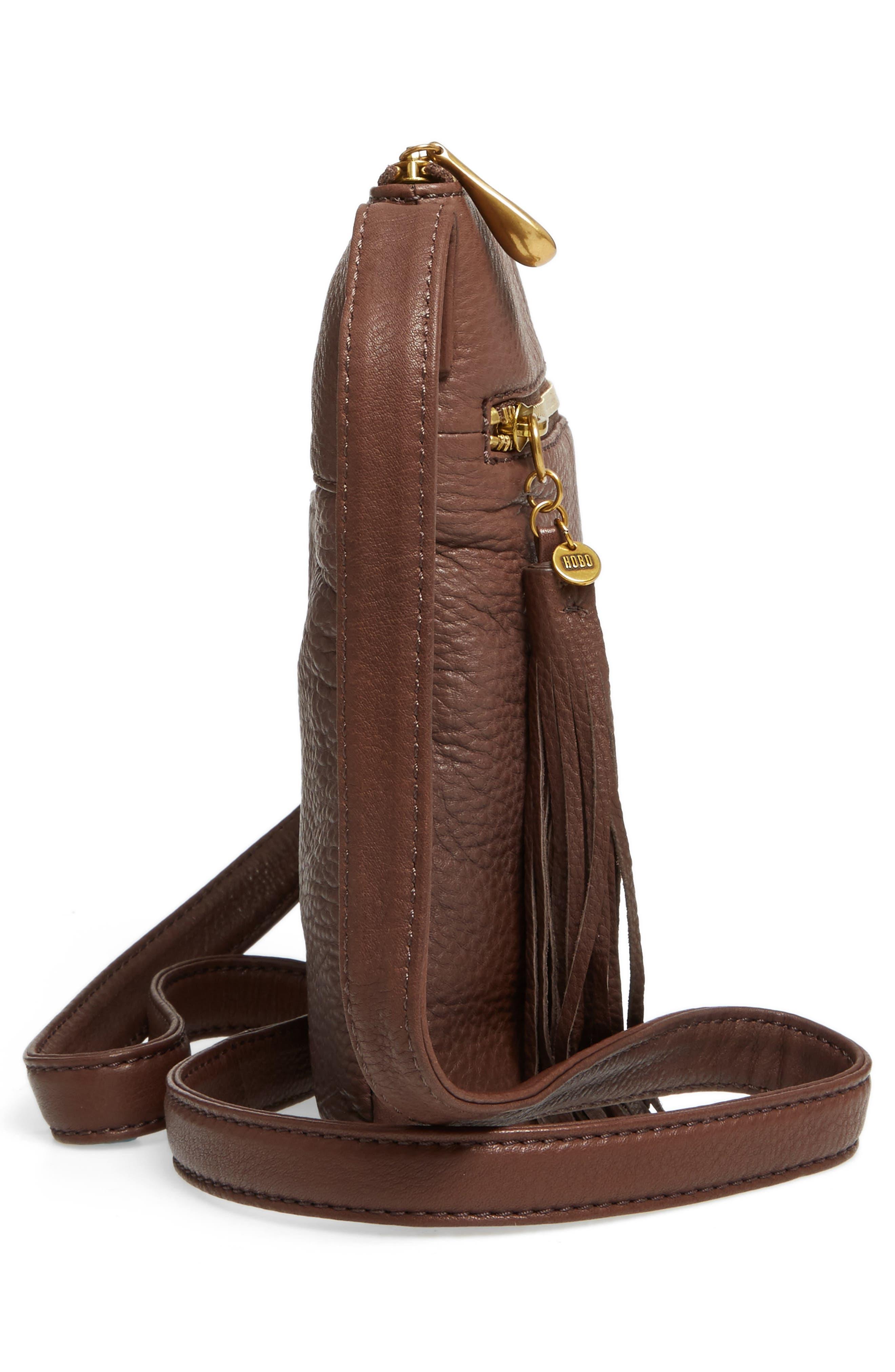 'Sarah' Leather Crossbody Bag,                             Alternate thumbnail 24, color,