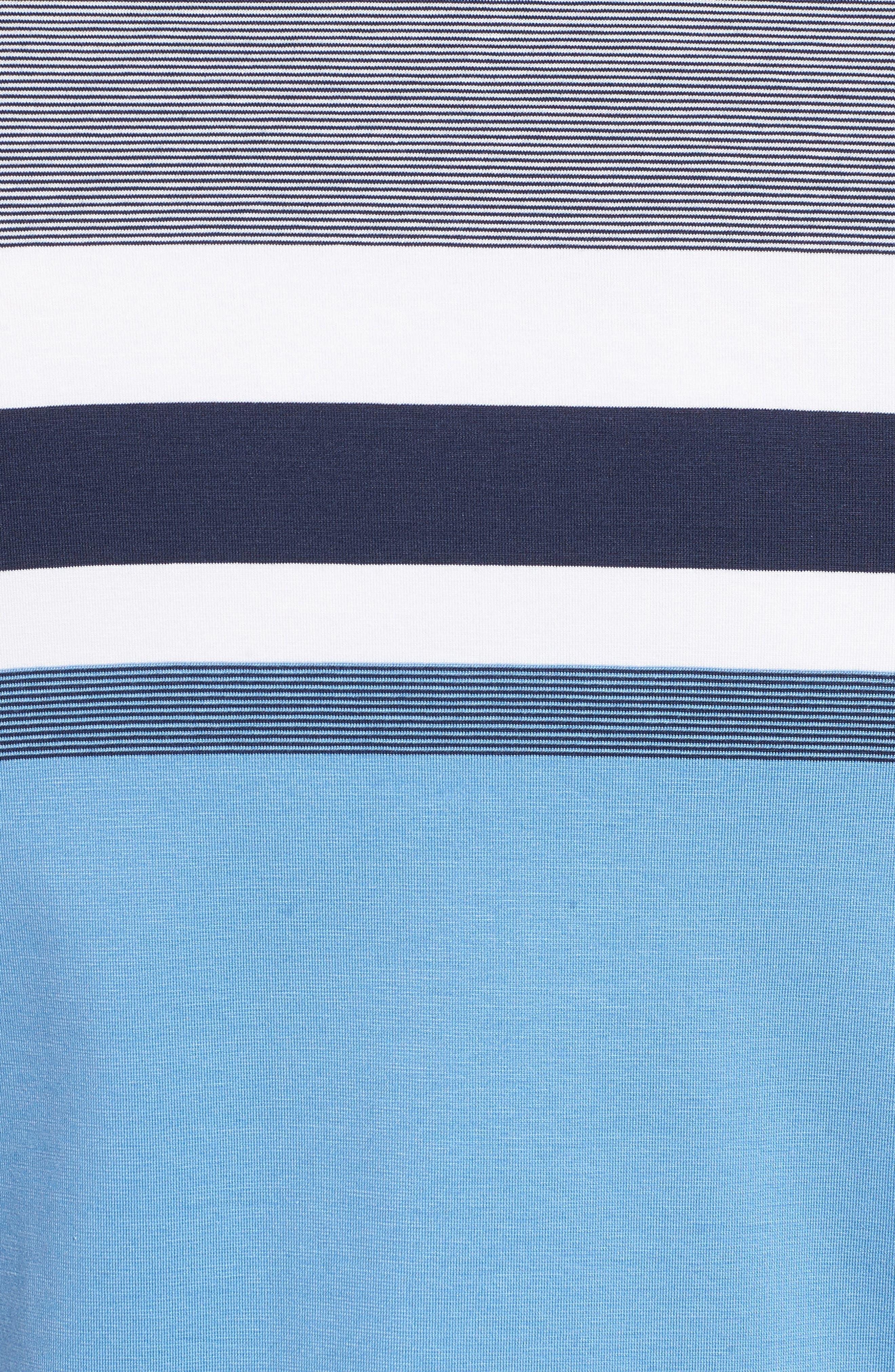 Horizon Stripe Polo,                             Alternate thumbnail 9, color,