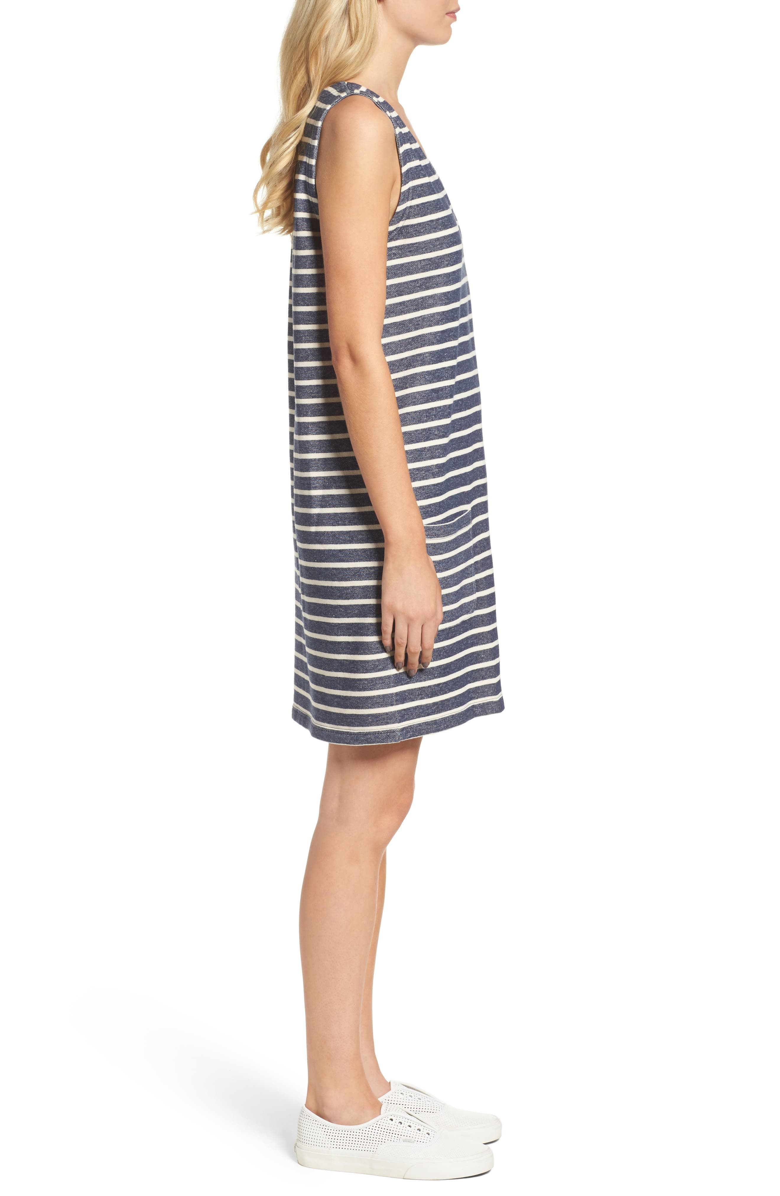 Normandy Stripe Dress,                             Alternate thumbnail 5, color,