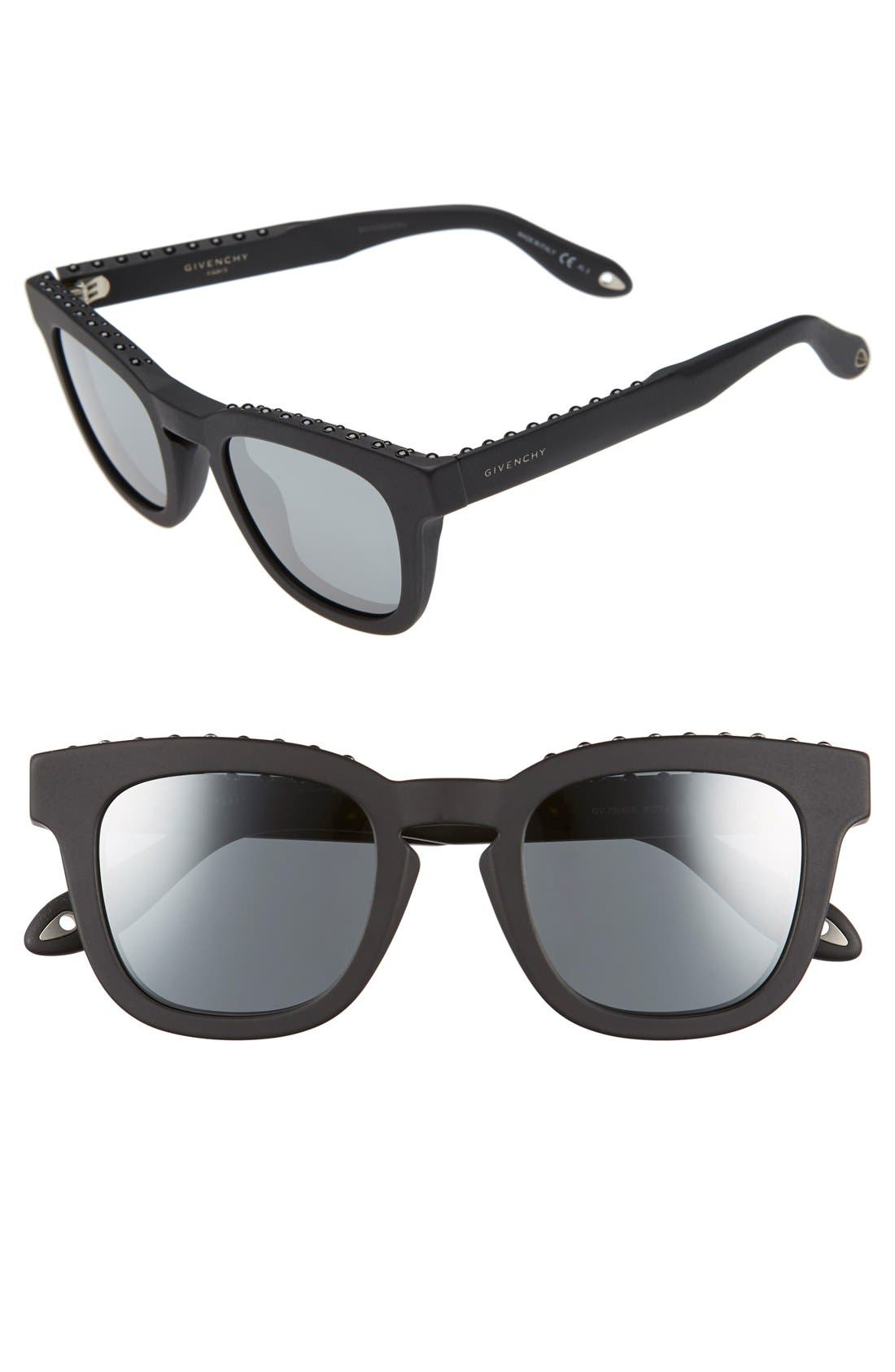 '7006/S' 48mm Sunglasses,                         Main,                         color, 002