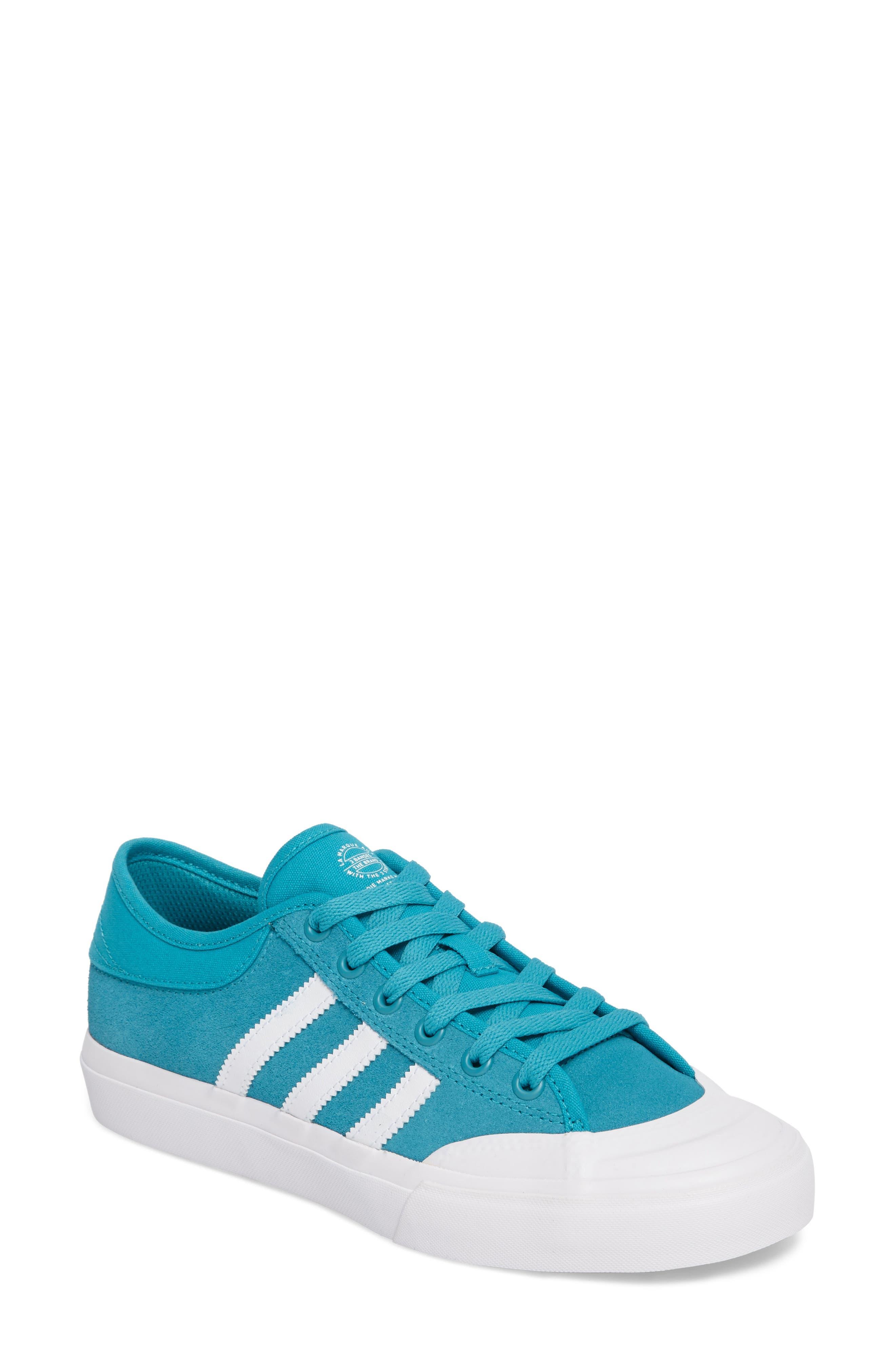 ADIDAS,                             Matchcourt Mid High Sneaker,                             Main thumbnail 1, color,                             400