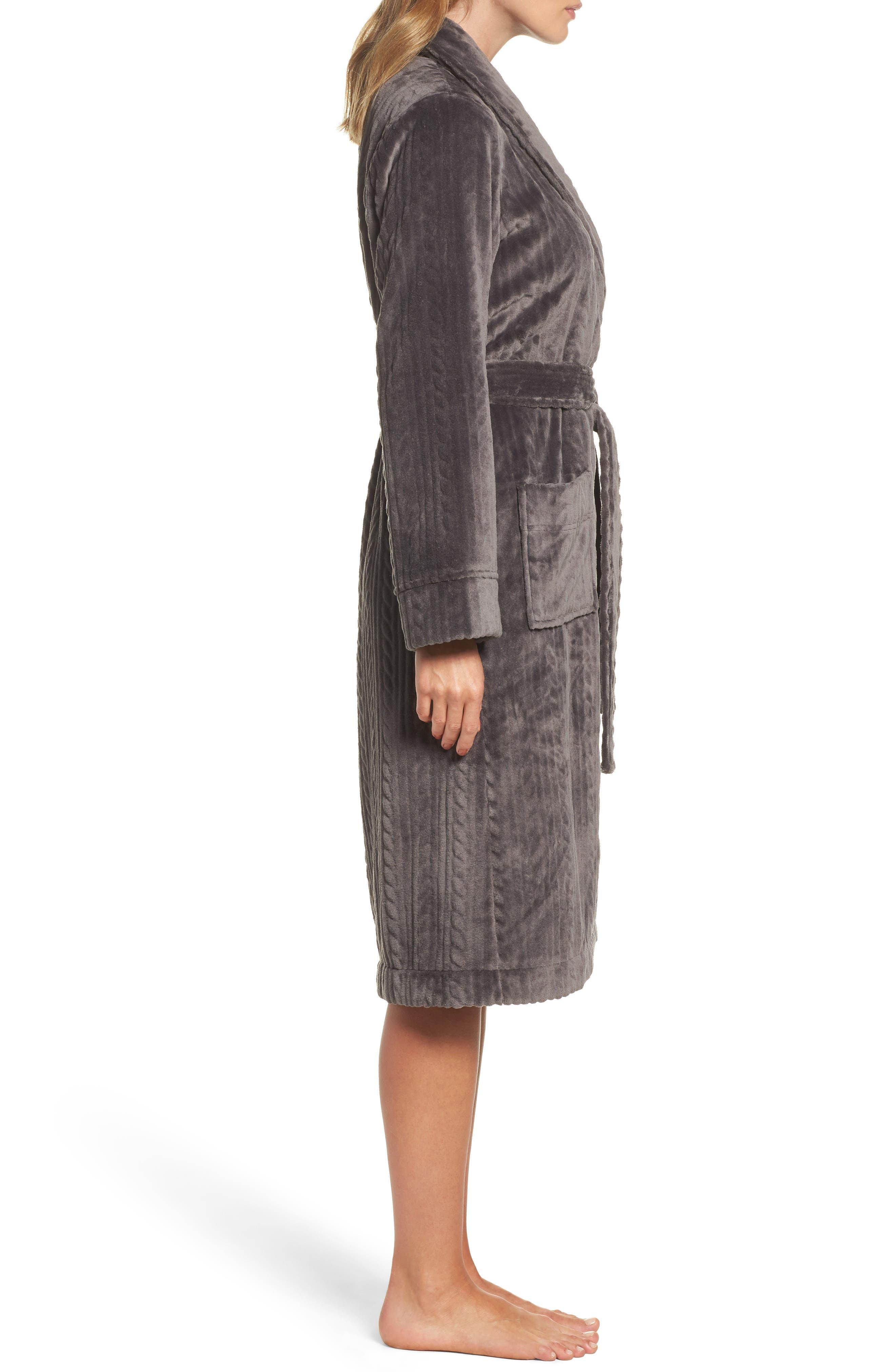 Nordstrom So Soft Plush Robe,                             Alternate thumbnail 8, color,
