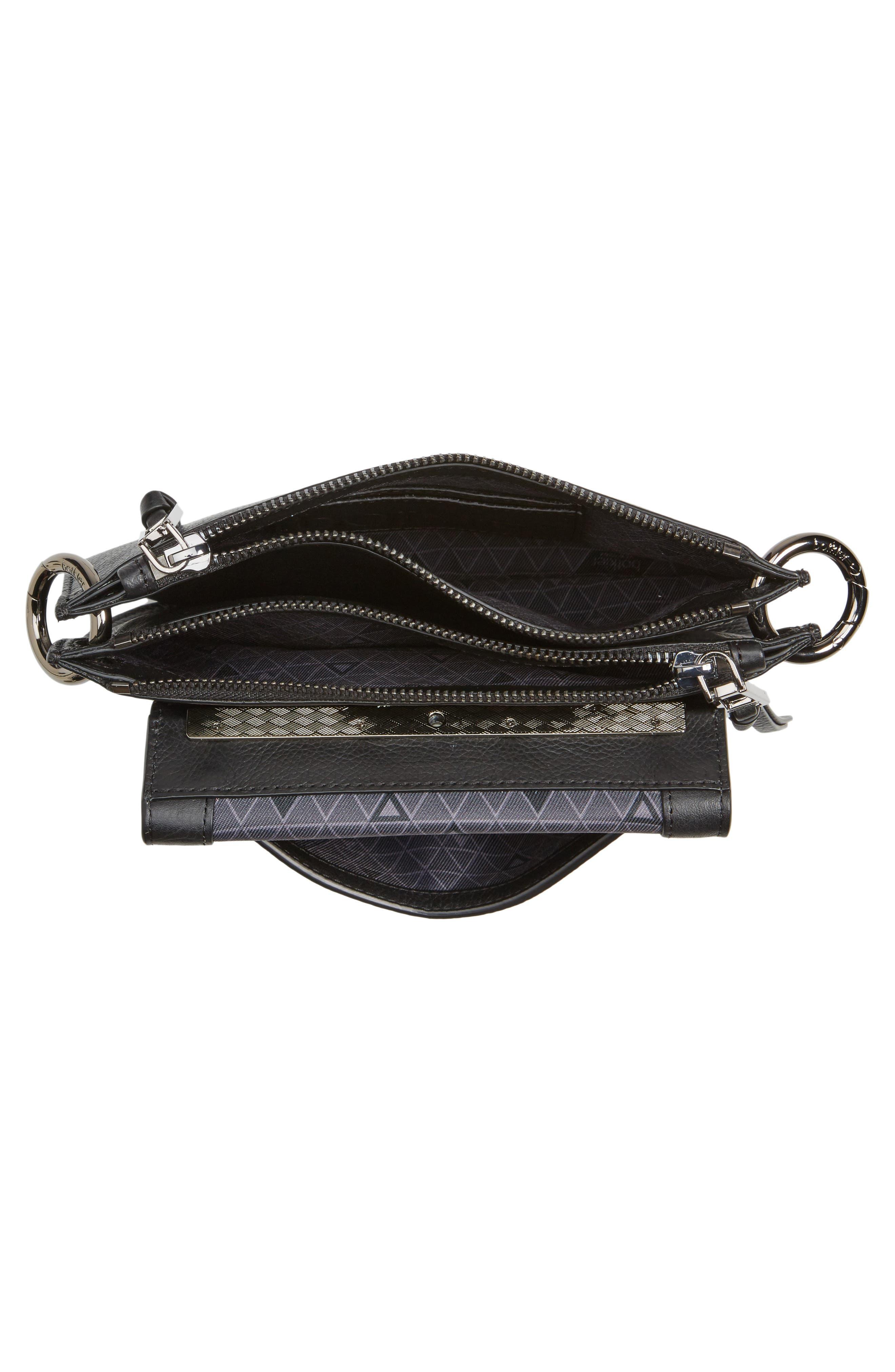 Bleeker Leather Double Shoulder Bag,                             Alternate thumbnail 19, color,
