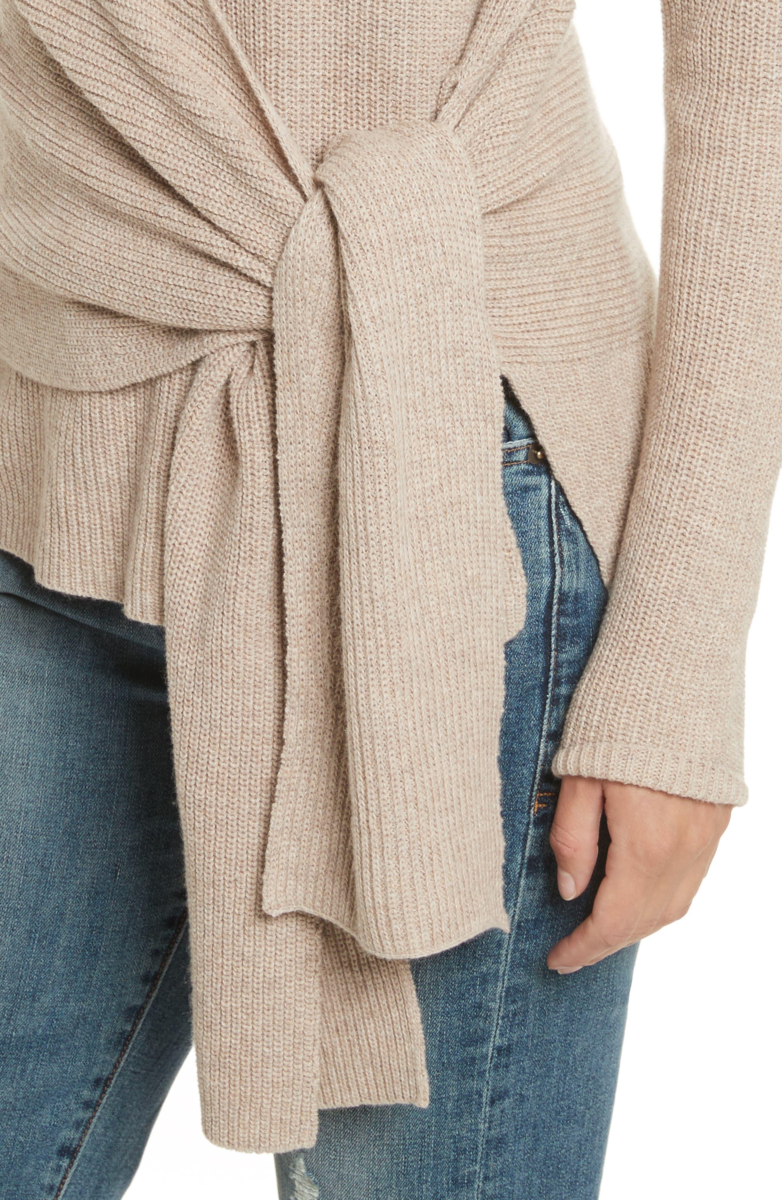 Greys Wrap Sweater,                             Alternate thumbnail 4, color,                             270