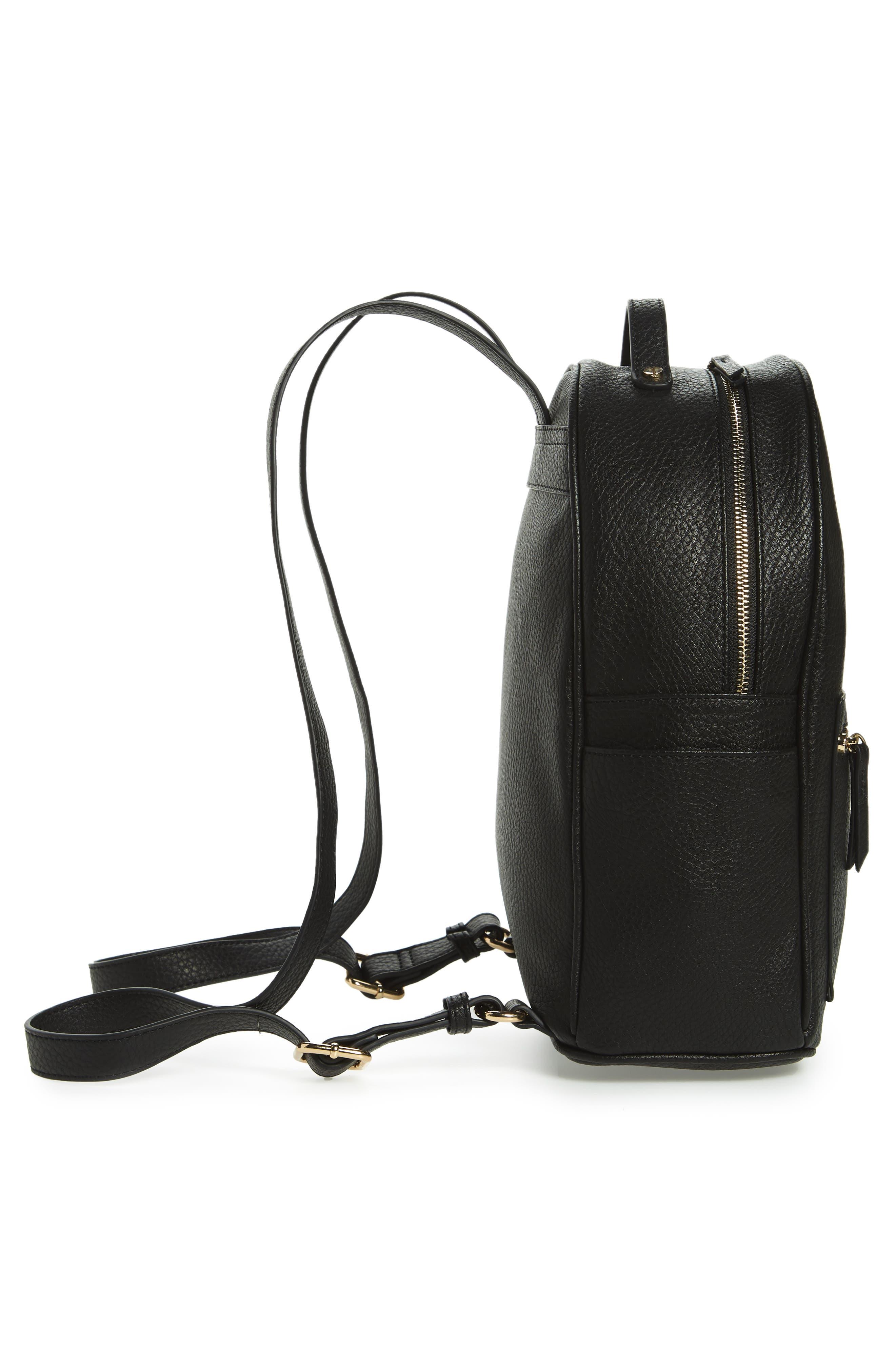 Mali + Lili Madison Vegan Leather Backpack,                             Alternate thumbnail 10, color,