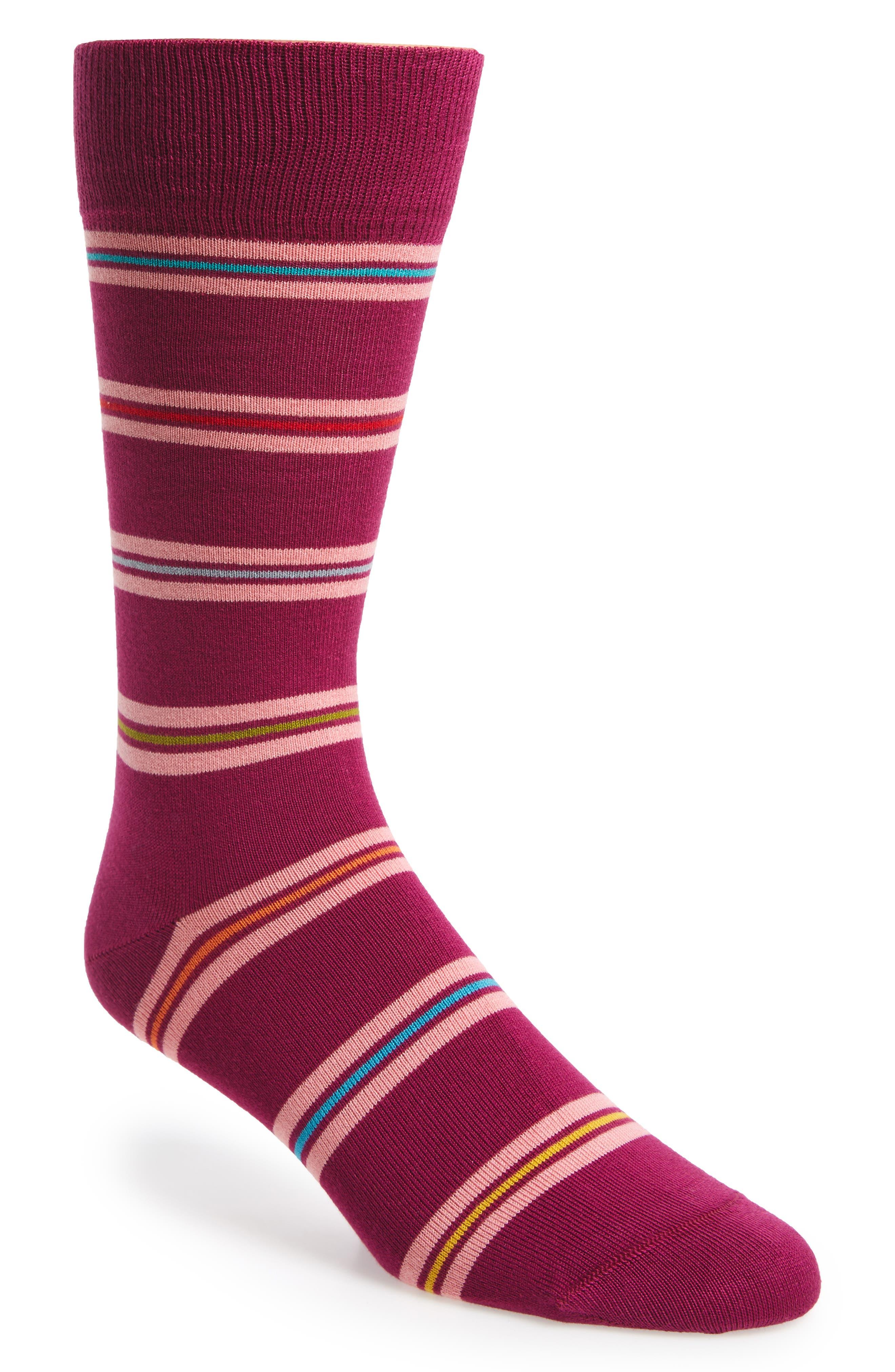 Blanket Stripe Socks,                             Main thumbnail 3, color,