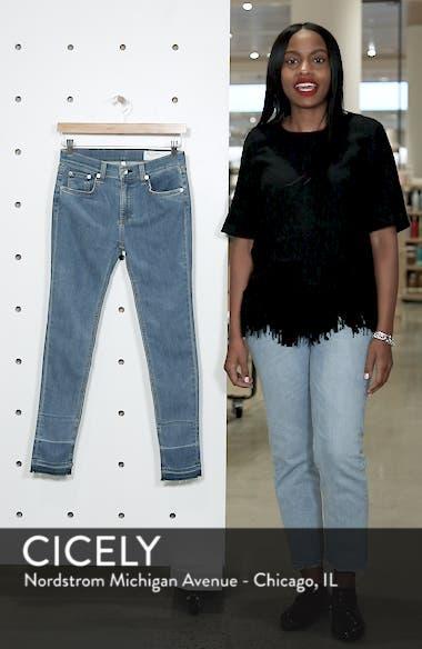 JEAN Release Hem Ankle Skinny Jeans, sales video thumbnail