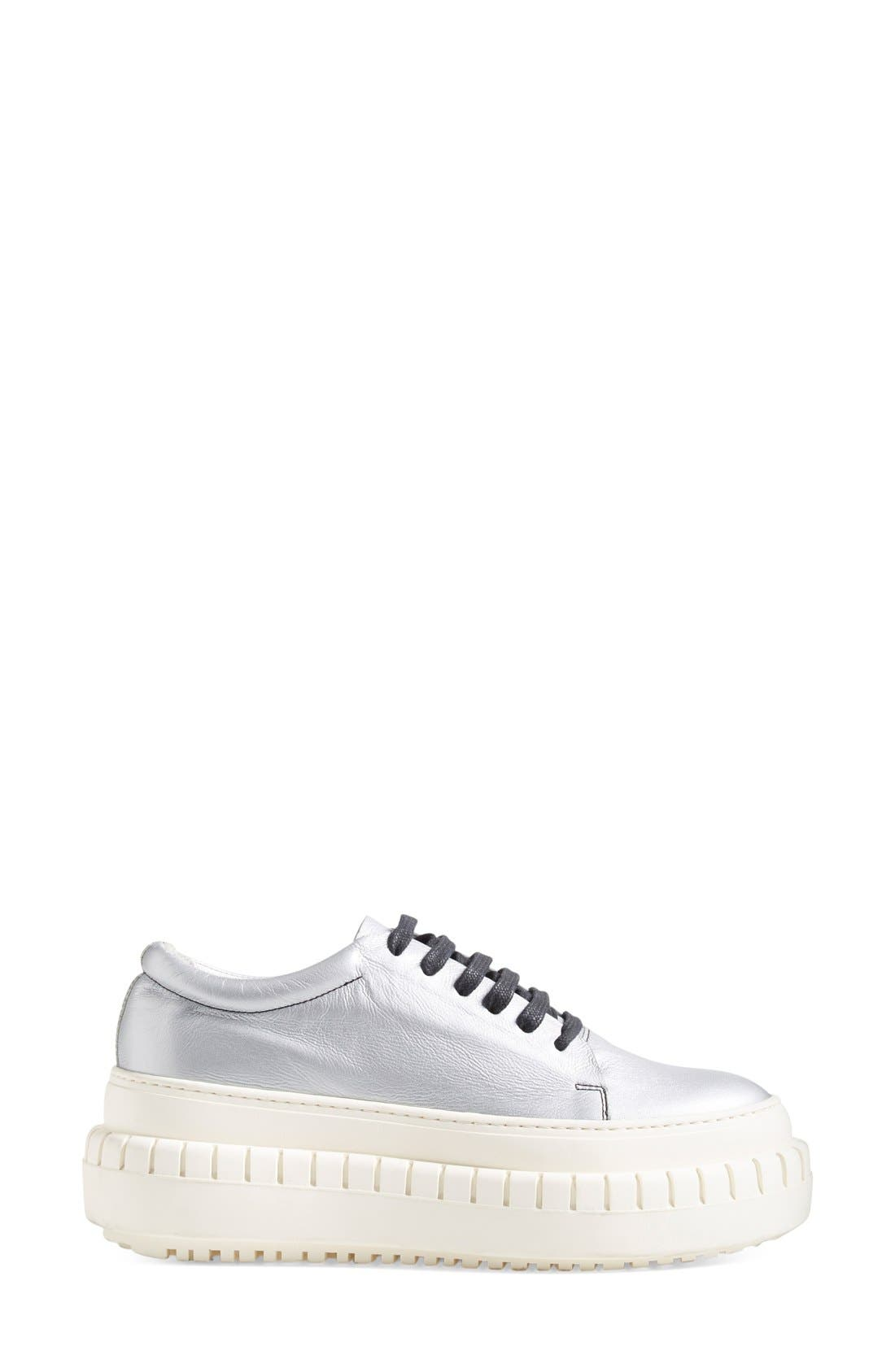 ACNE STUDIOS,                             ACNE Studio 'Saddy' Platform Sneaker,                             Alternate thumbnail 2, color,                             040