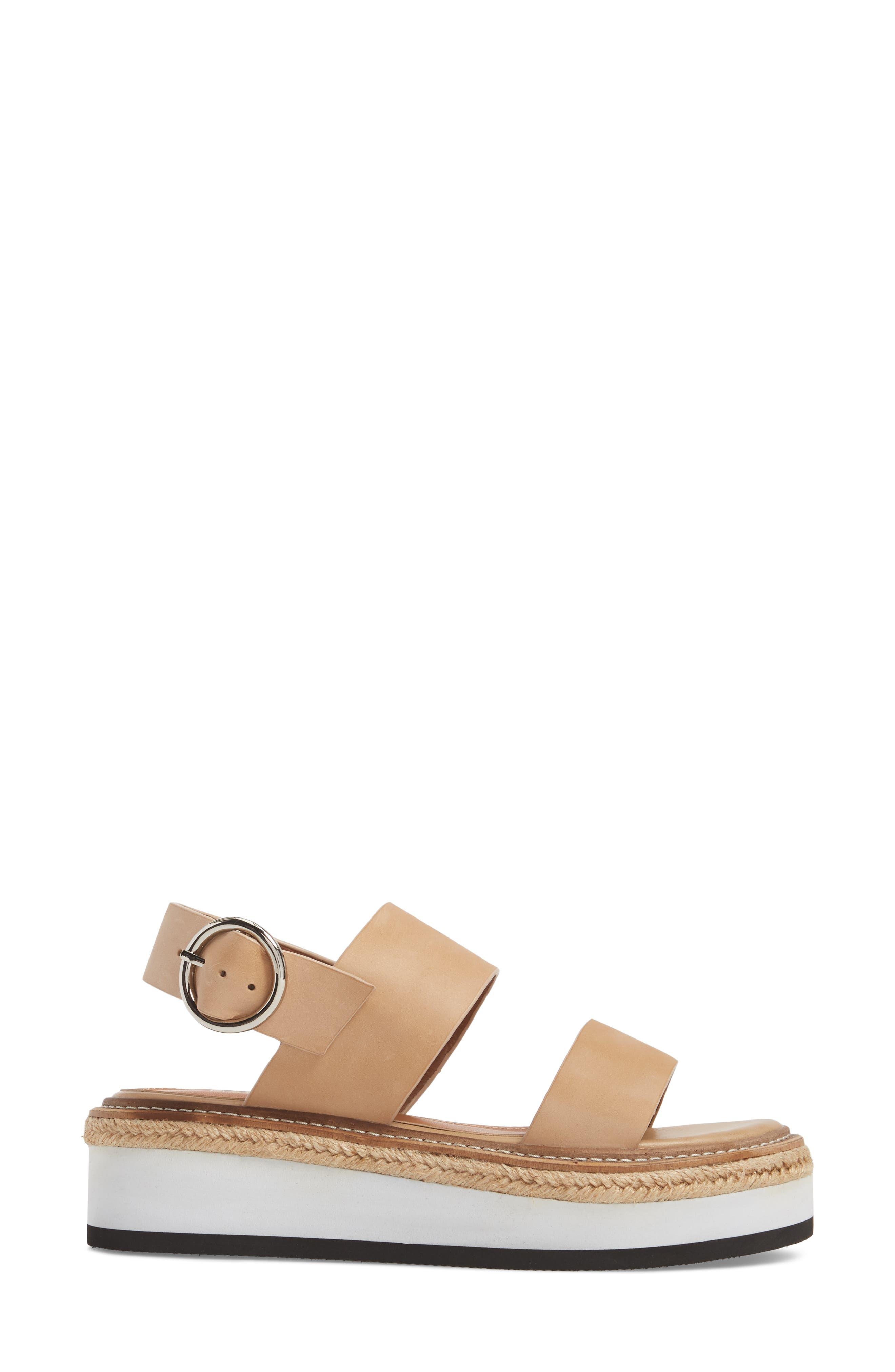 Niche Platform Sandal,                             Alternate thumbnail 6, color,