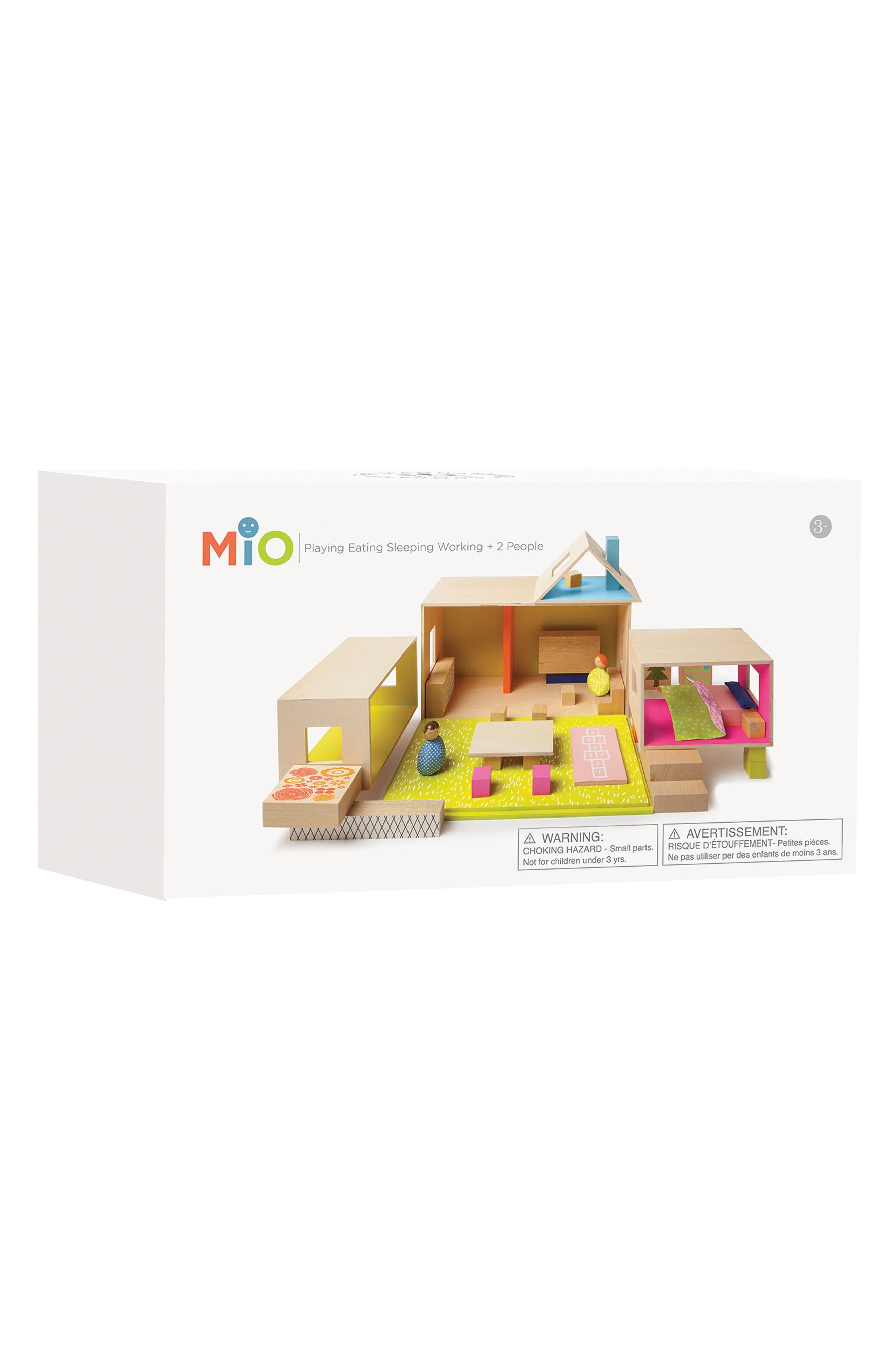MiO Playing Eating Sleeping Working Blocks,                             Alternate thumbnail 4, color,                             700