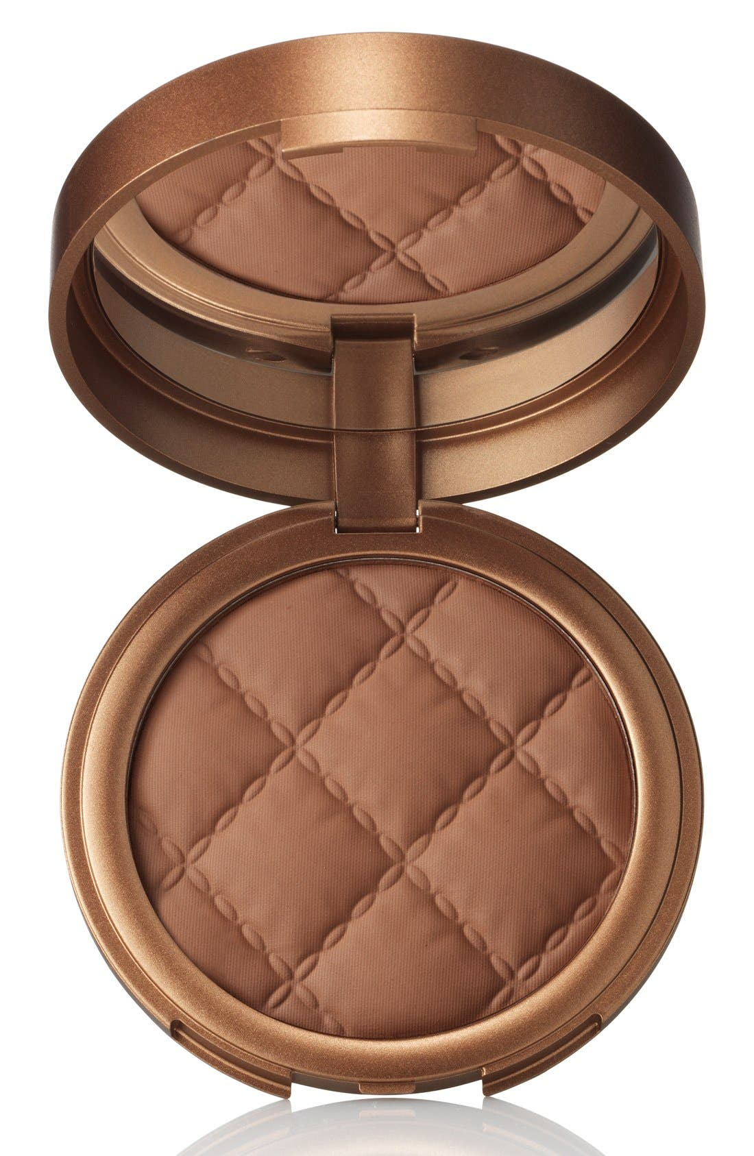 Beach Matte Baked Hydrating Bronzer,                             Main thumbnail 1, color,                             SUNSET DEEP