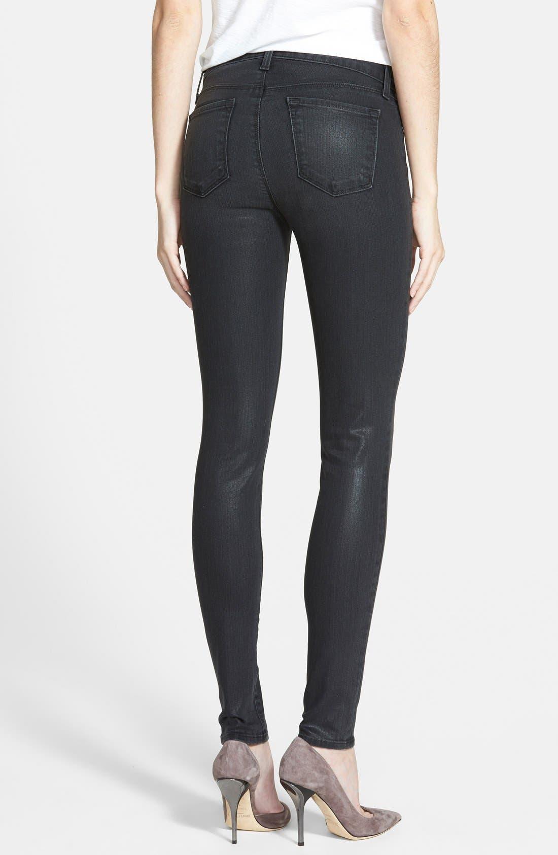 '620' Mid Rise Skinny Jeans,                             Alternate thumbnail 9, color,