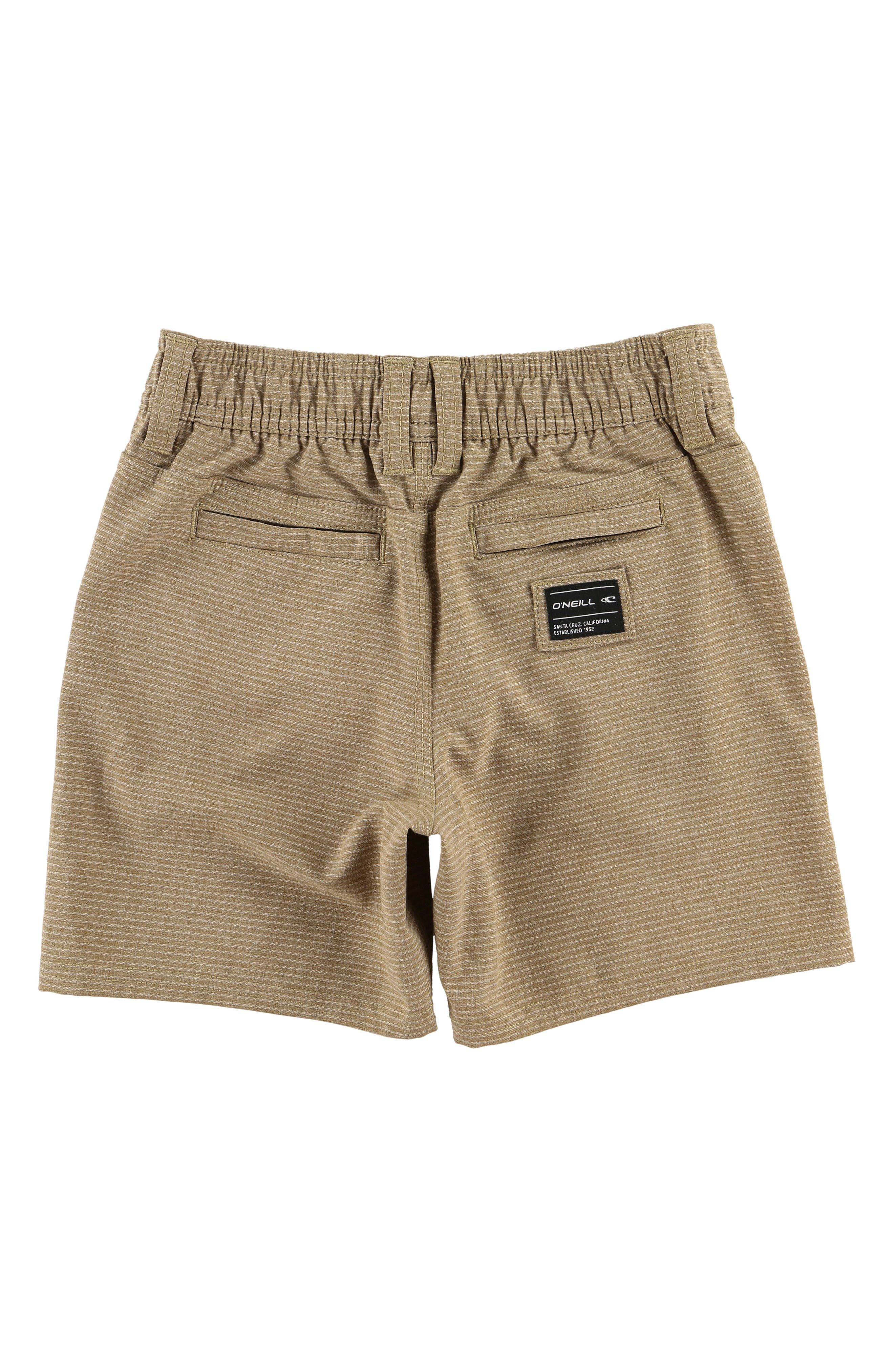 Locked Stripe Hybrid Shorts,                             Alternate thumbnail 2, color,                             205