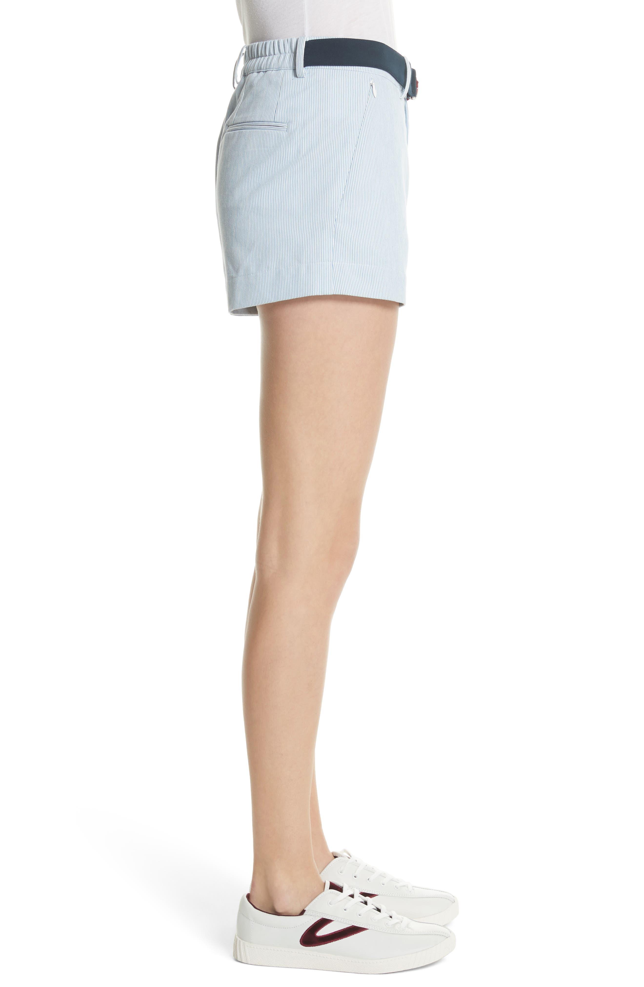 Multi Belt Shorts,                             Alternate thumbnail 3, color,                             453